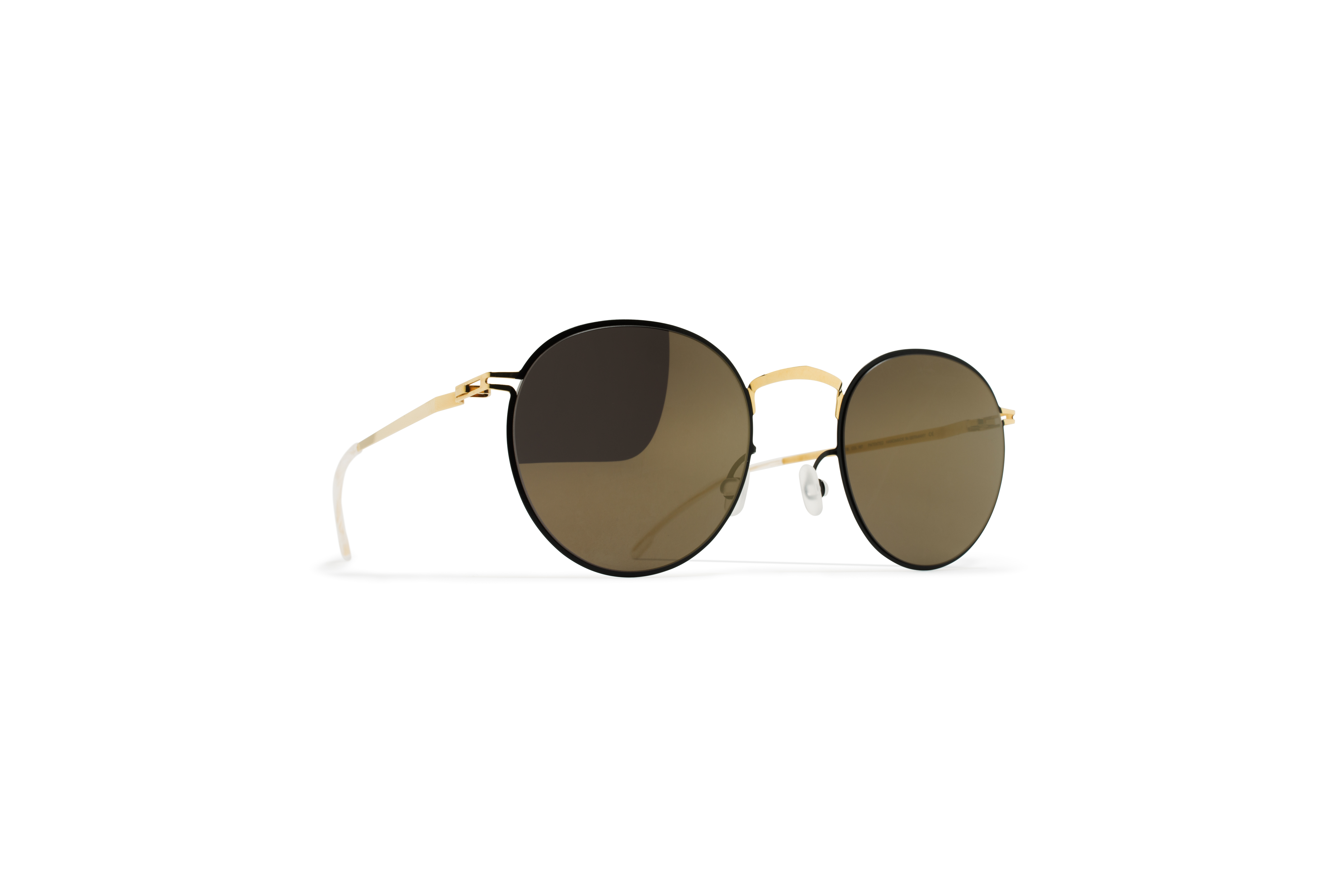 MYKITA Decades Sun Gianni Gold Jetblack Brilliantg