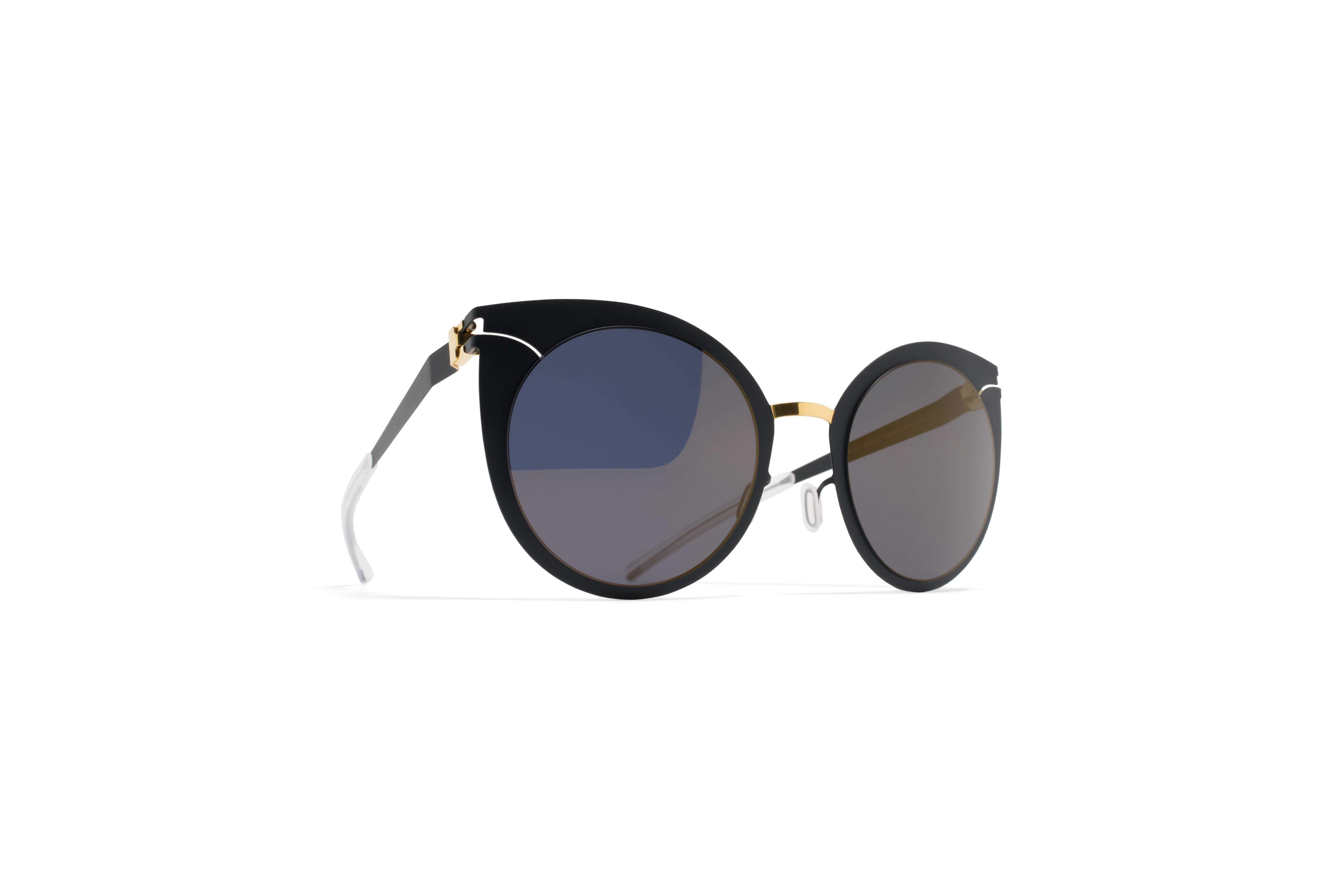 MYKITA Decades Sun Giulietta Gold Indigo Brilliant