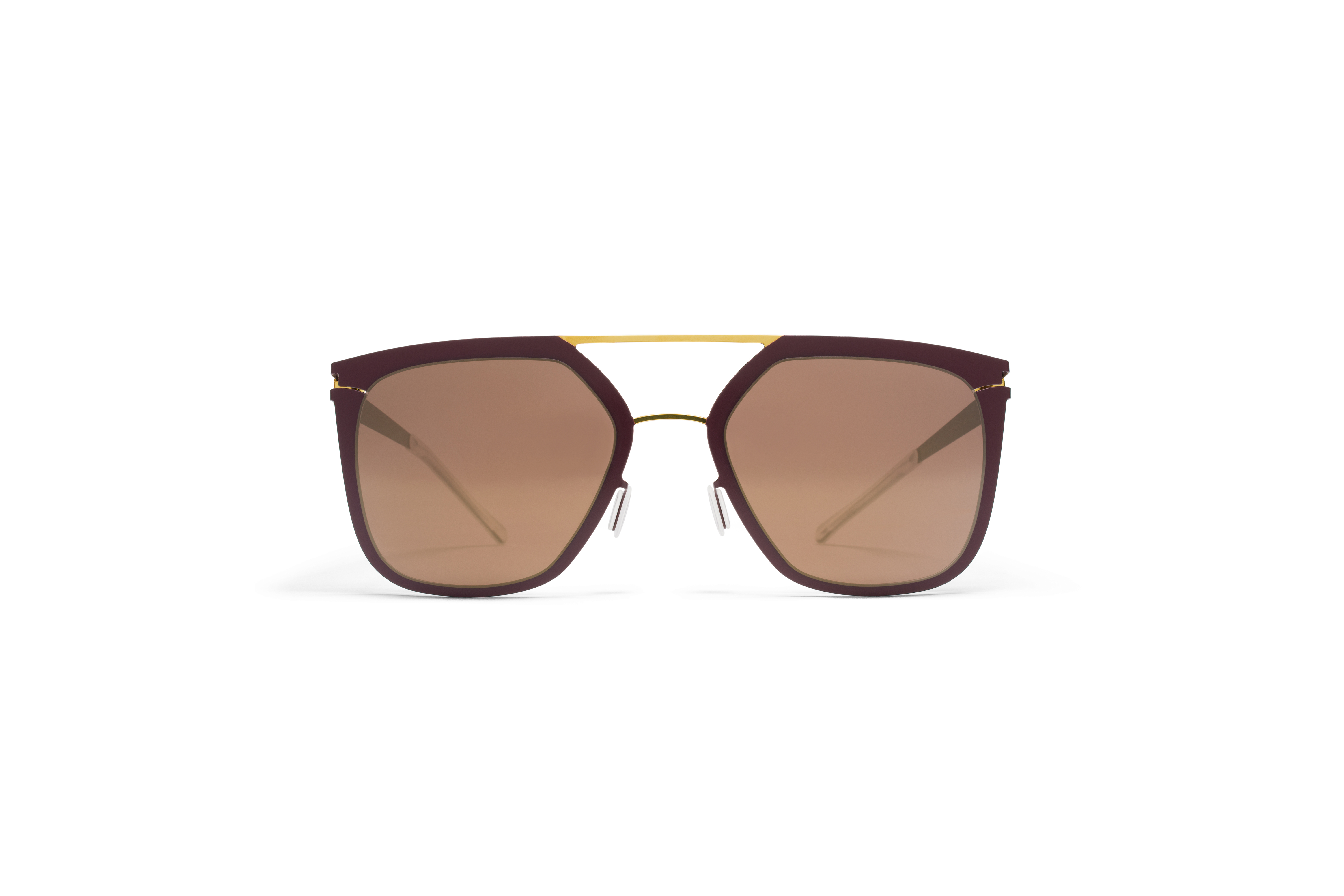 MYKITA Decades Sun Jessica Gold Burgundy Brilliant562b463661d42