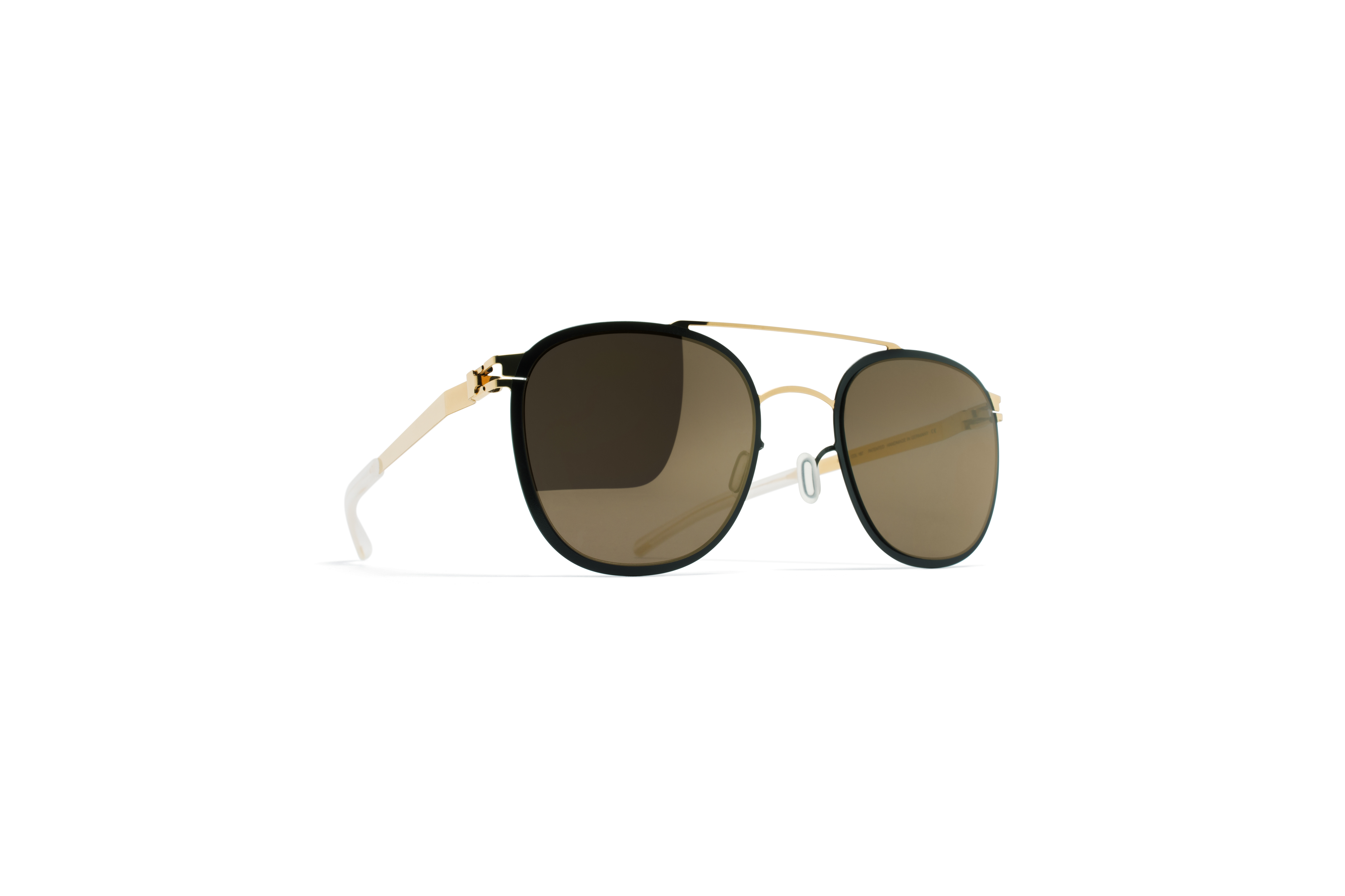 MYKITA Decades Sun Keaton Gold Jetblack Brilliantg
