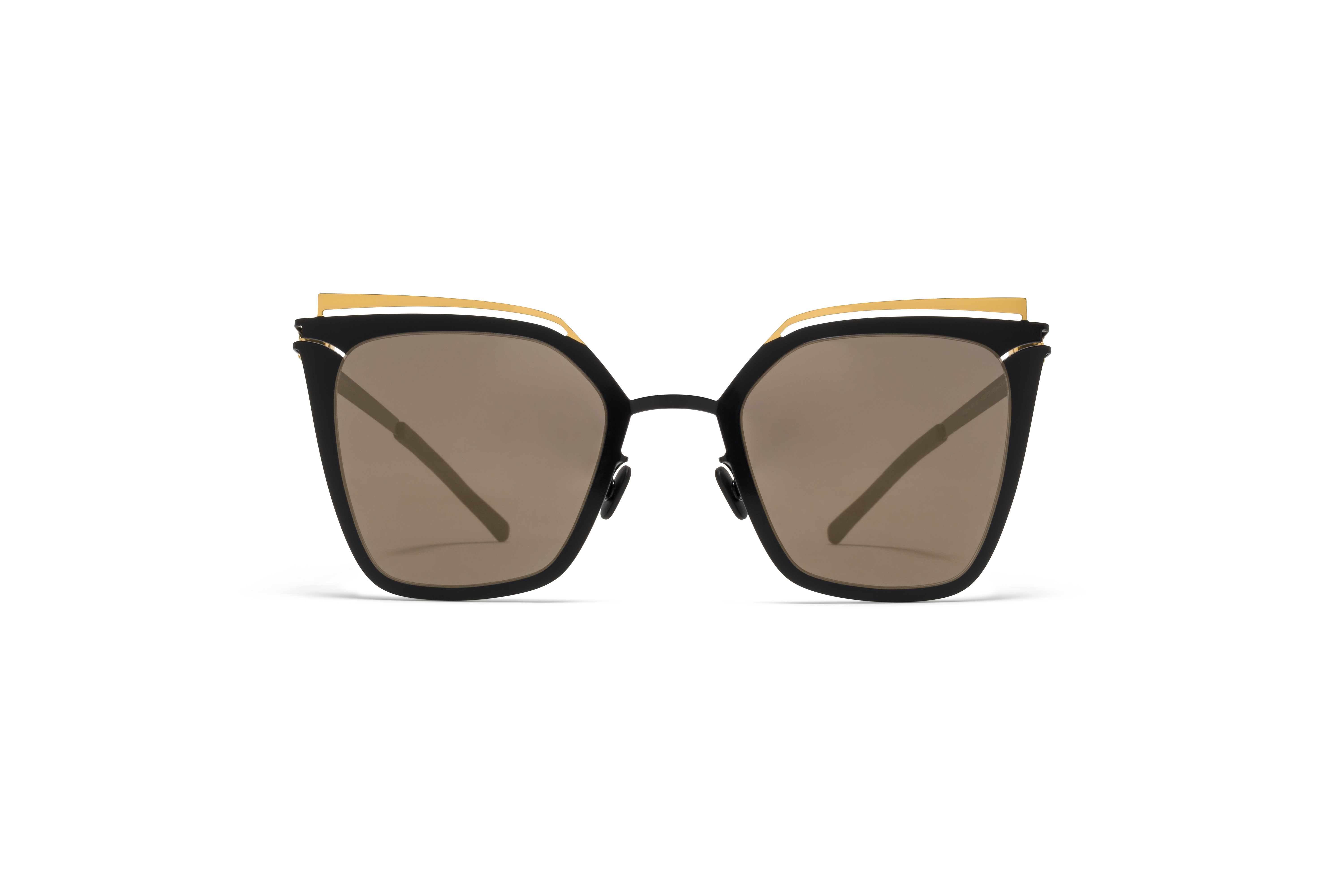 MYKITA Decades Sun Kendall Gold Jet Black Brillian59fb225f54fc4