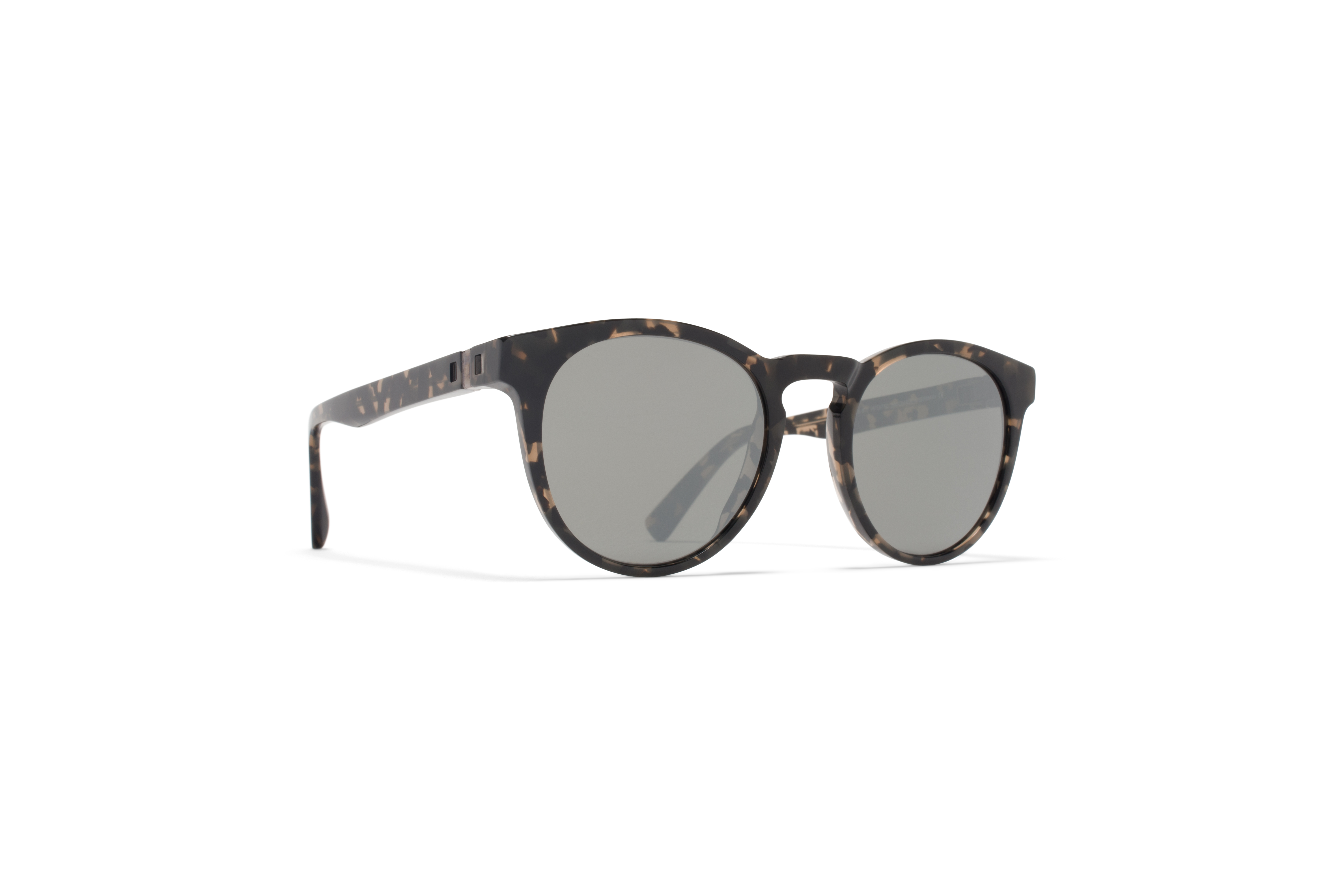 MYKITA Decades Sun Olive Antigua Mirror Black