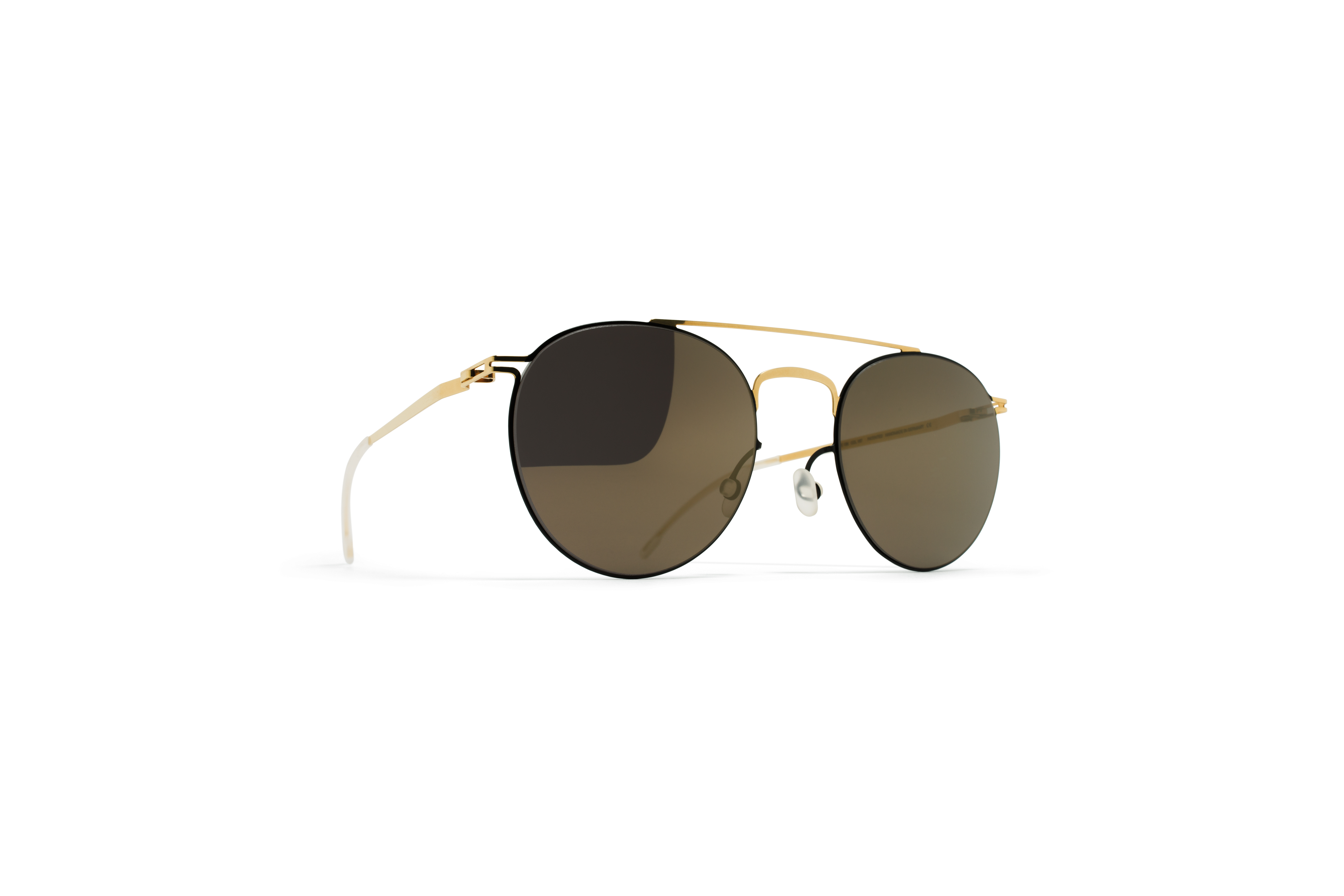 MYKITA Decades Sun Pepe Gold Jetblack Brilliantgre