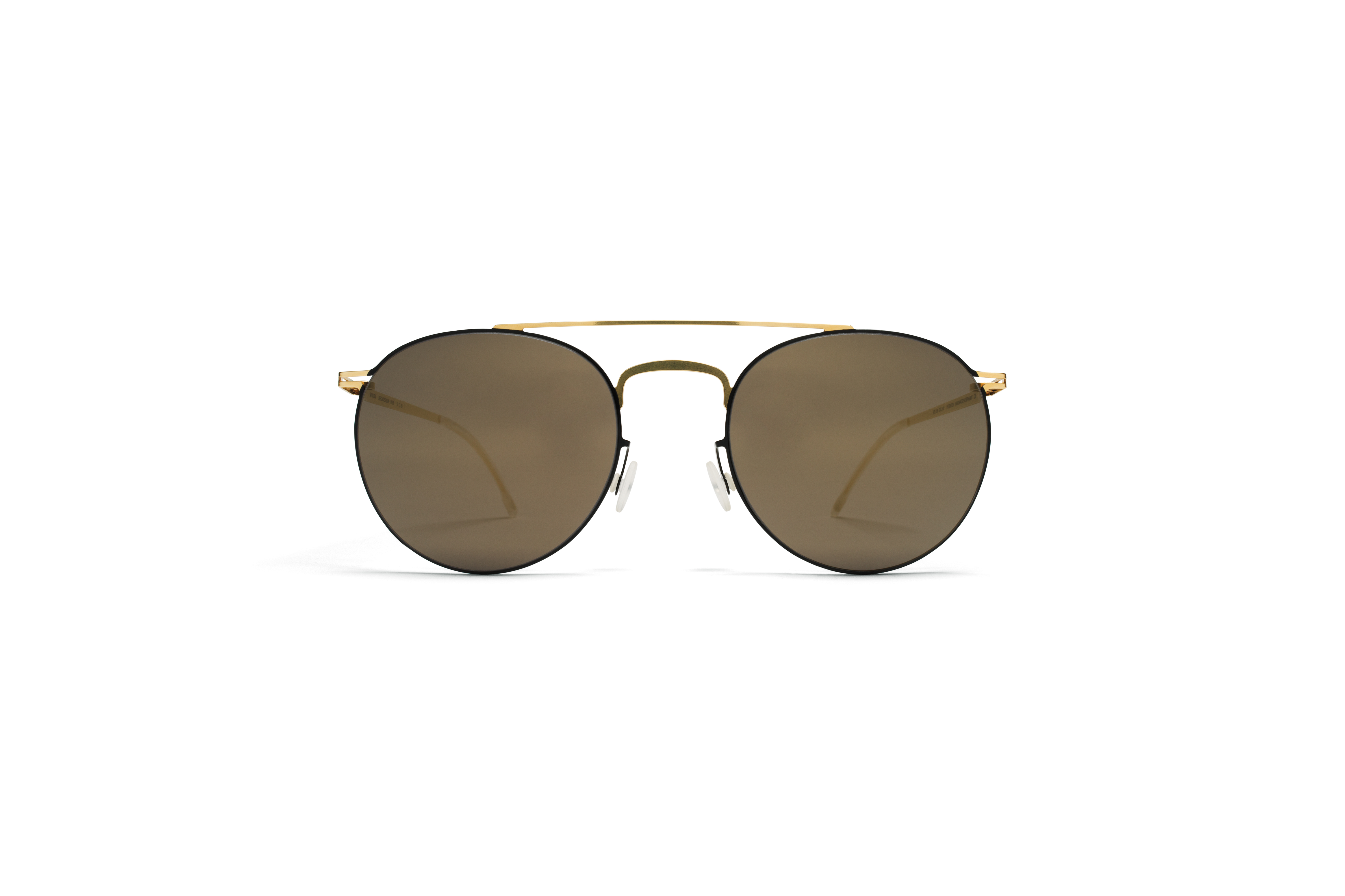 MYKITA Decades Sun Pepe Gold Jetblack Brilliantgre56bb1d859fc1e