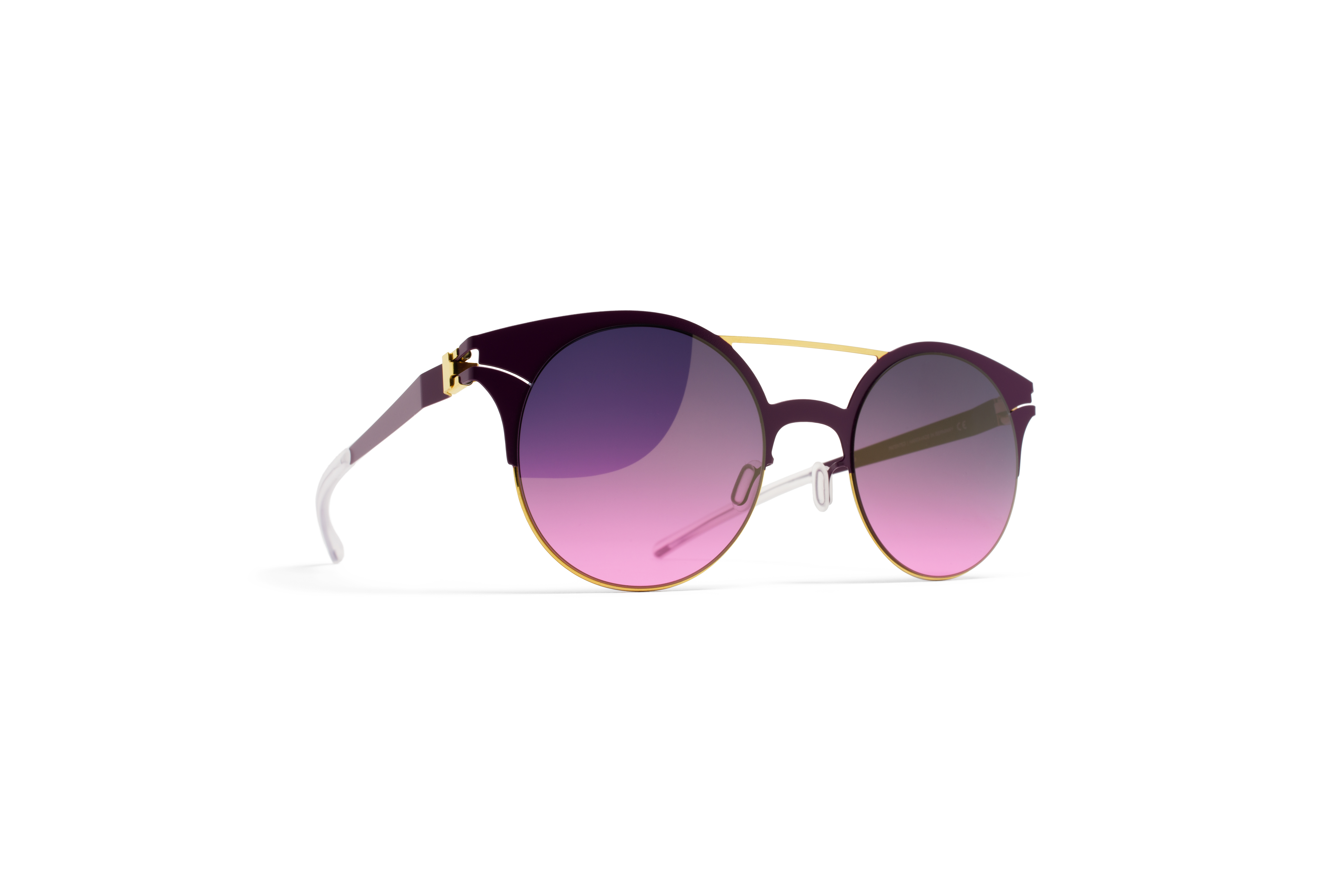 MYKITA Decades Sun Philomene Gold Purpleviolet Pur