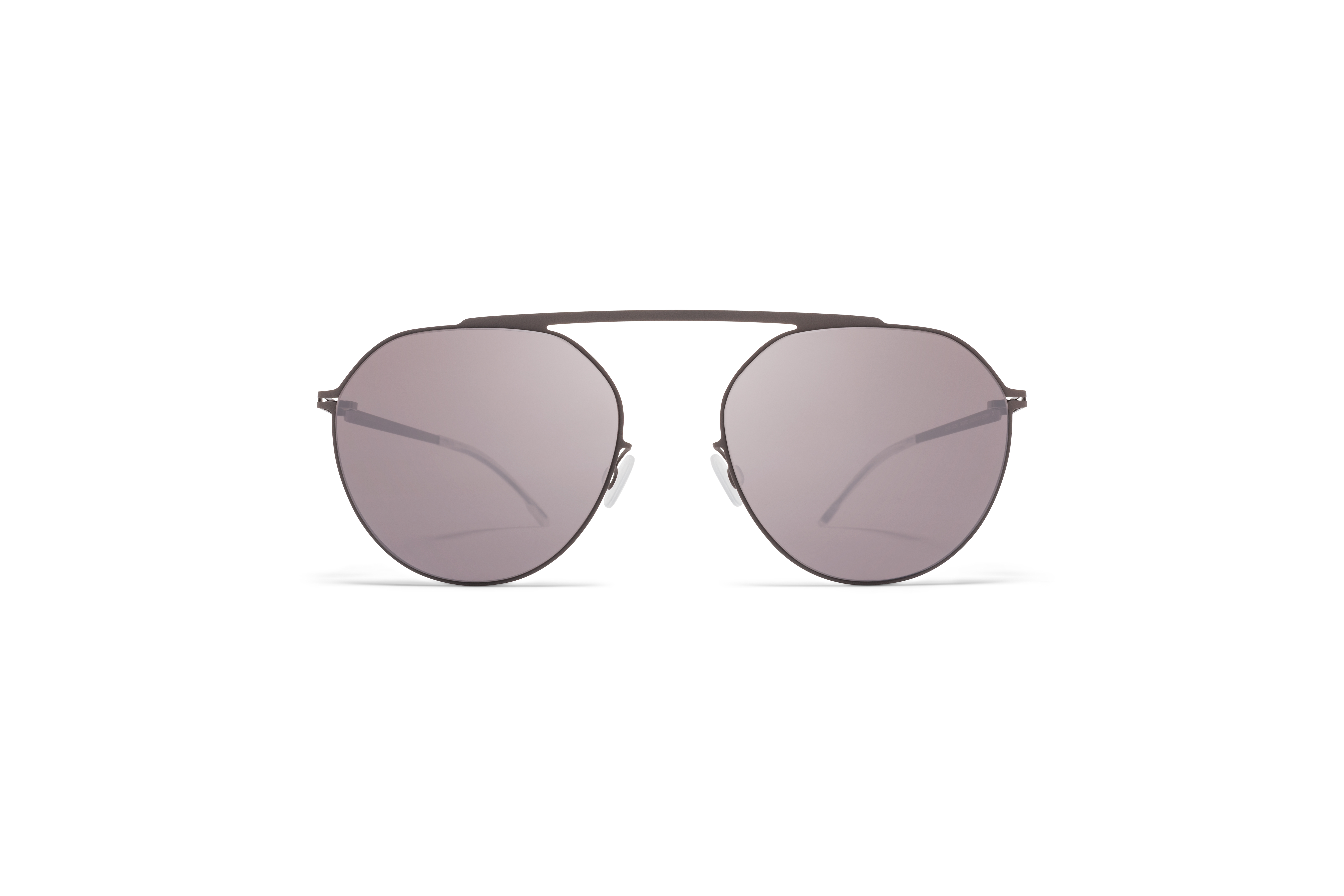 MYKITA Decades Sun Solomon Shiny Graphite Mole Grey Dark Purple Flash