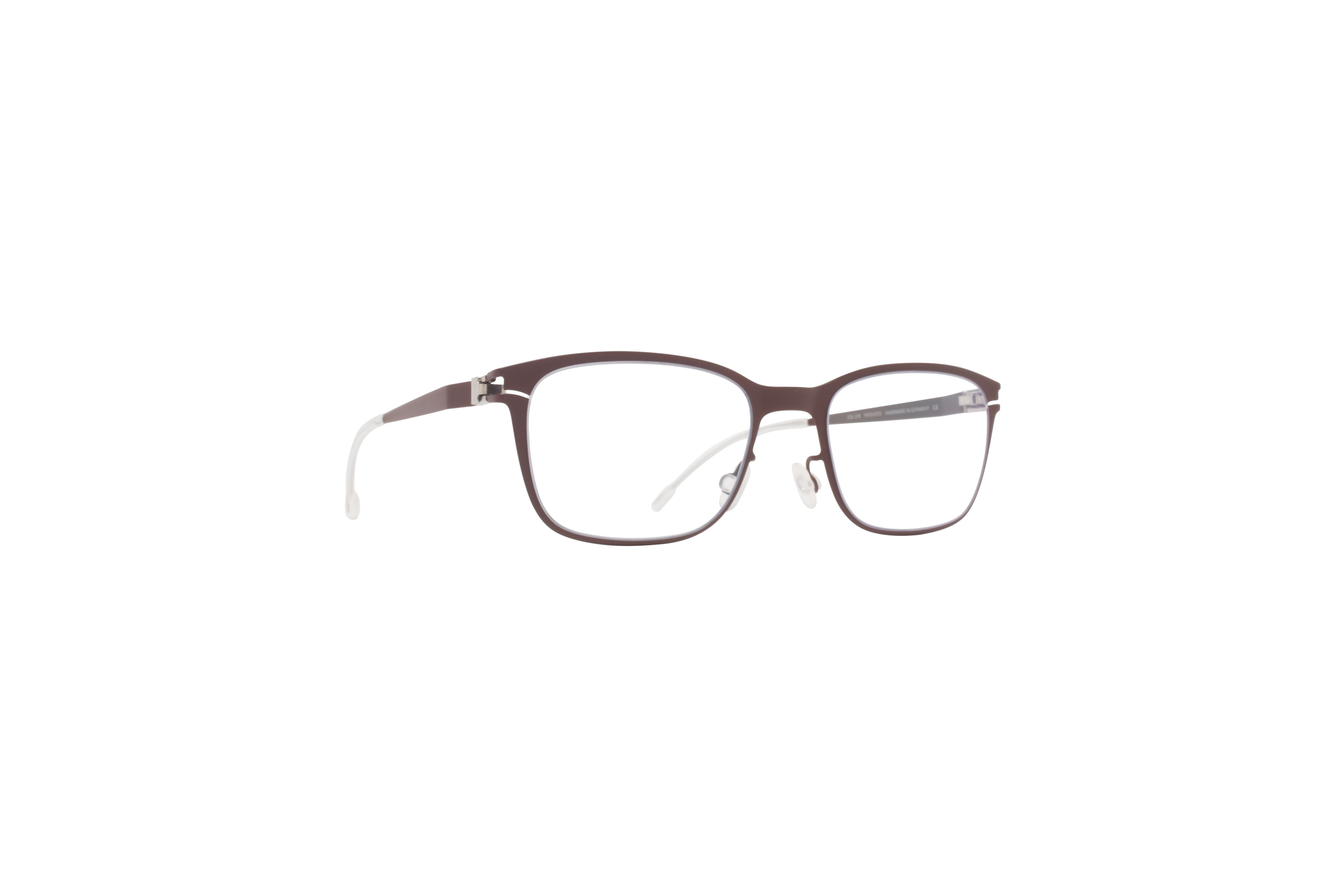 MYKITA First Rx Racoon R13 Darkbrown Clear