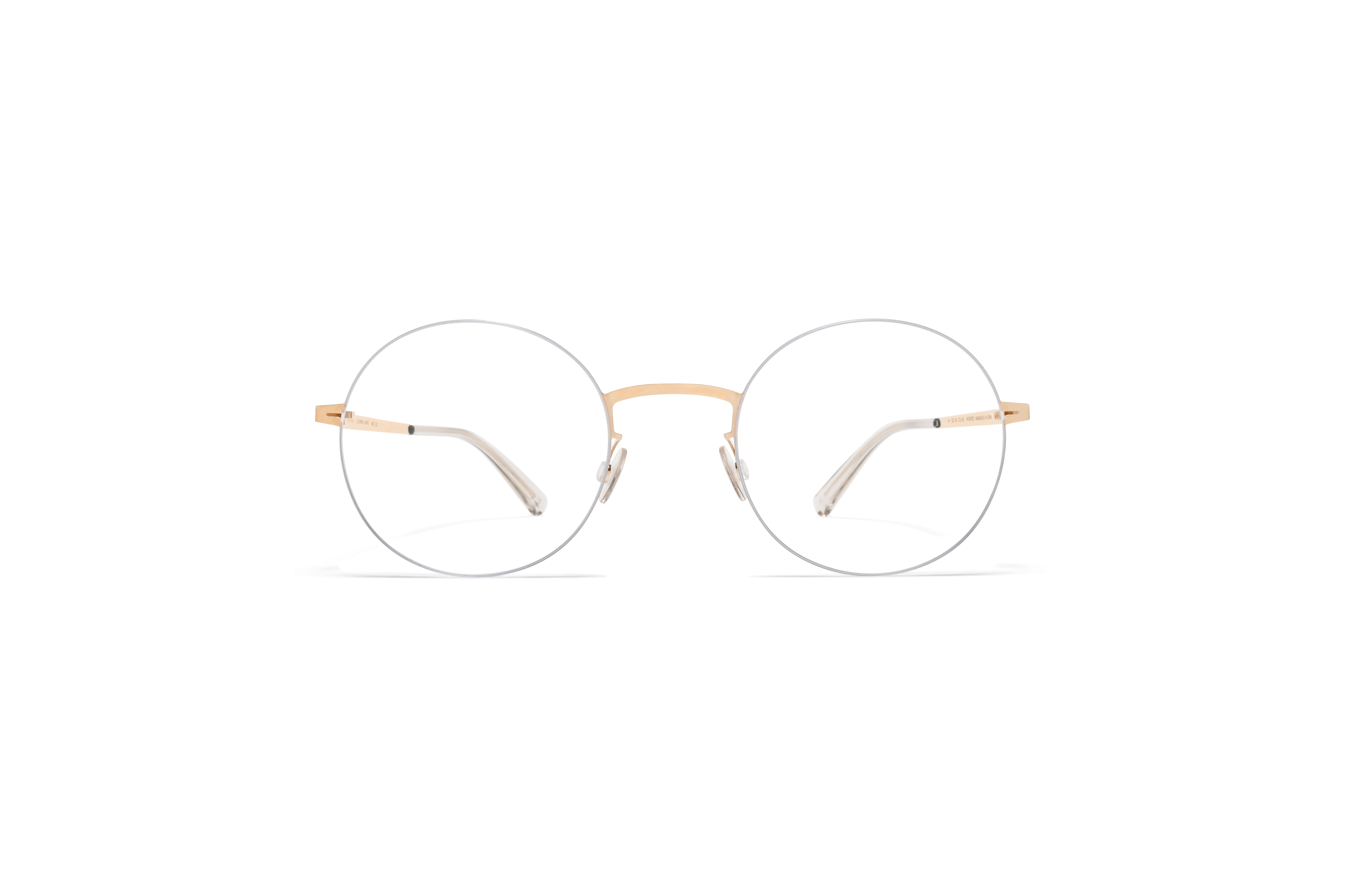 MYKITA Less Rim Rx Kayo Silver Champagne Gold Clear