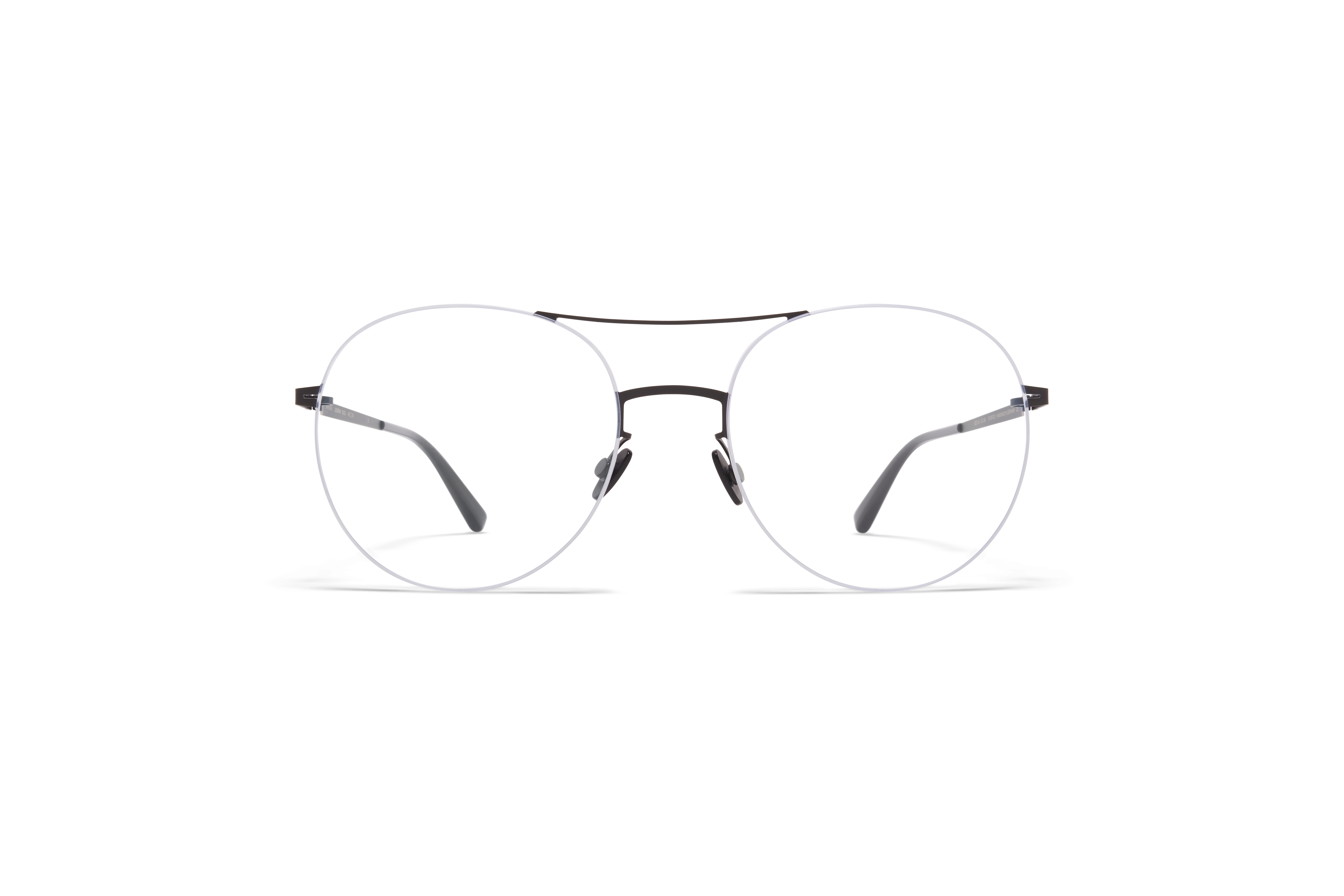MYKITA Less Rim Rx Suzu Black White Clear