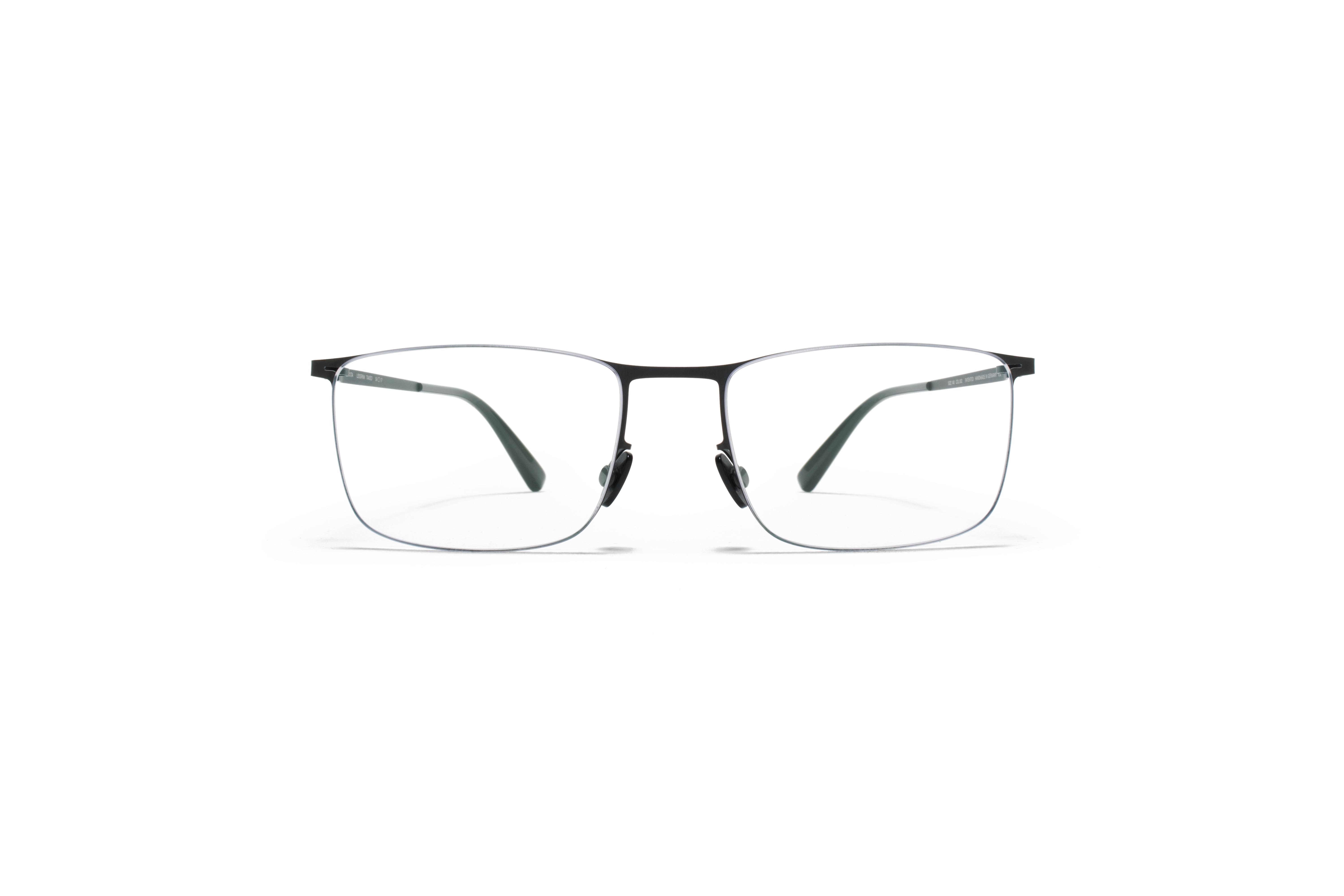 MYKITA Less Rim Rx Takeo Black Clear