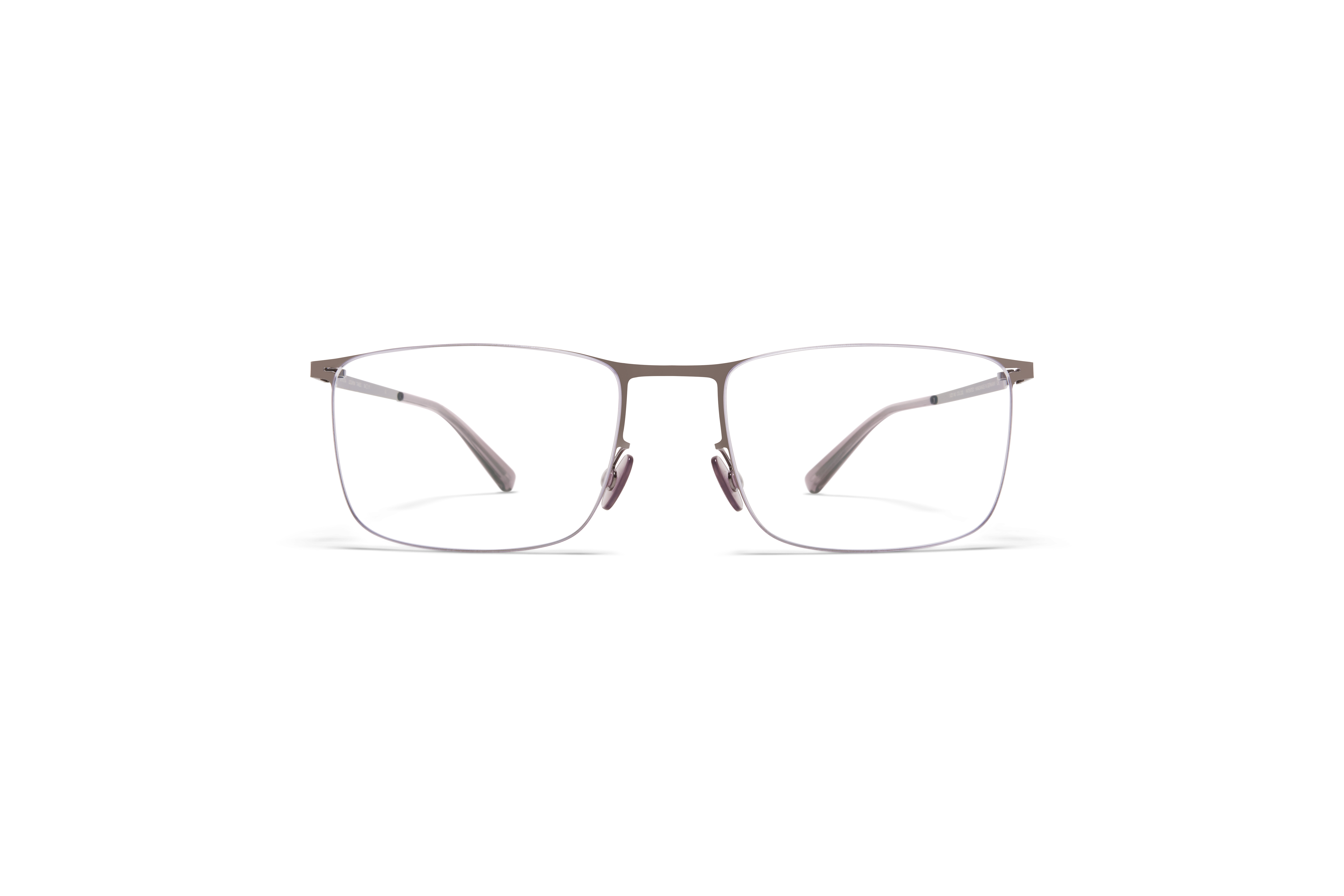 MYKITA Less Rim Rx Takeo Shiny Graphite Clear
