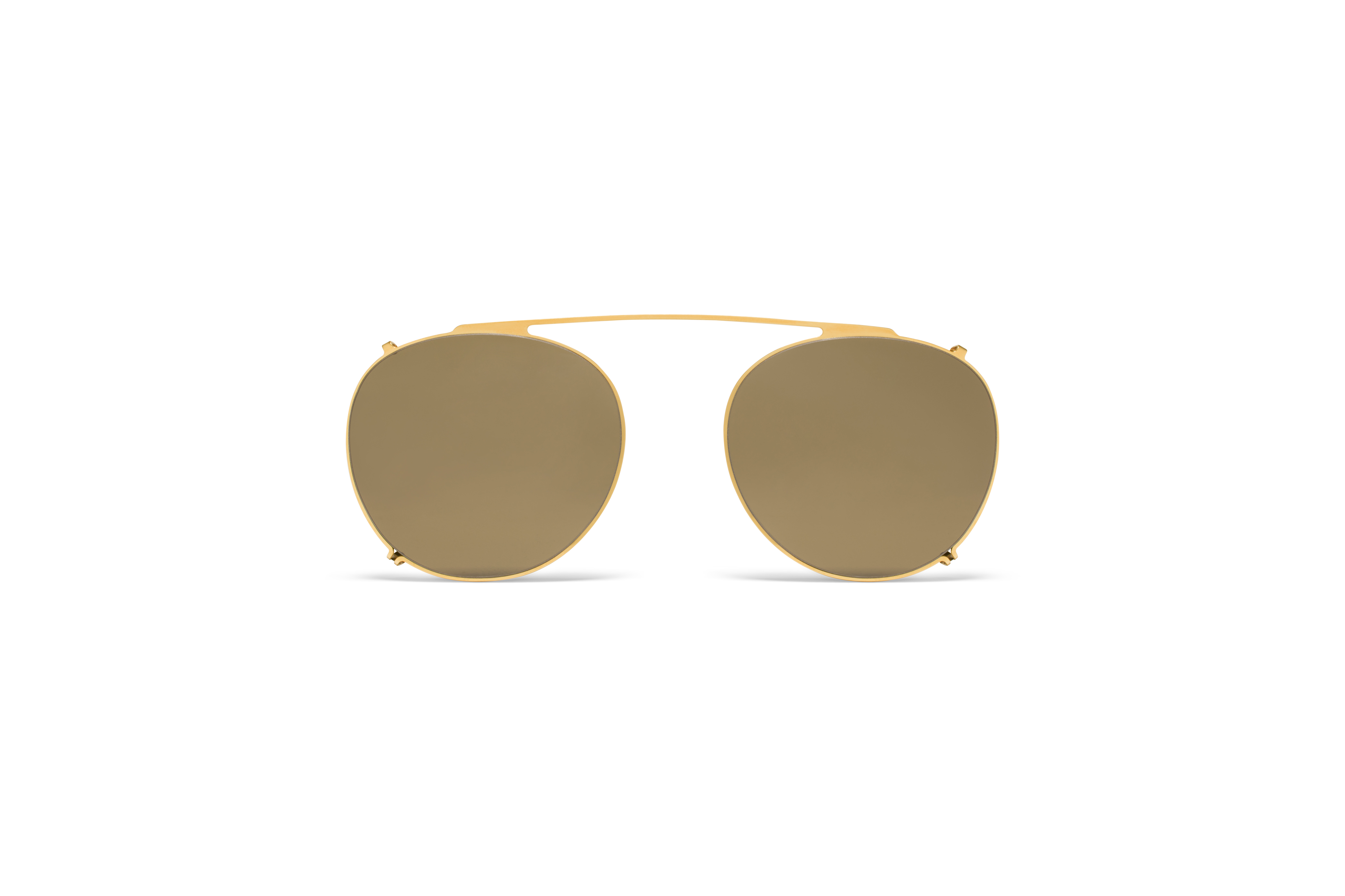 MYKITA Lite Acetate Miki Glossygold Rawbrown Solid58d324e1a41dc
