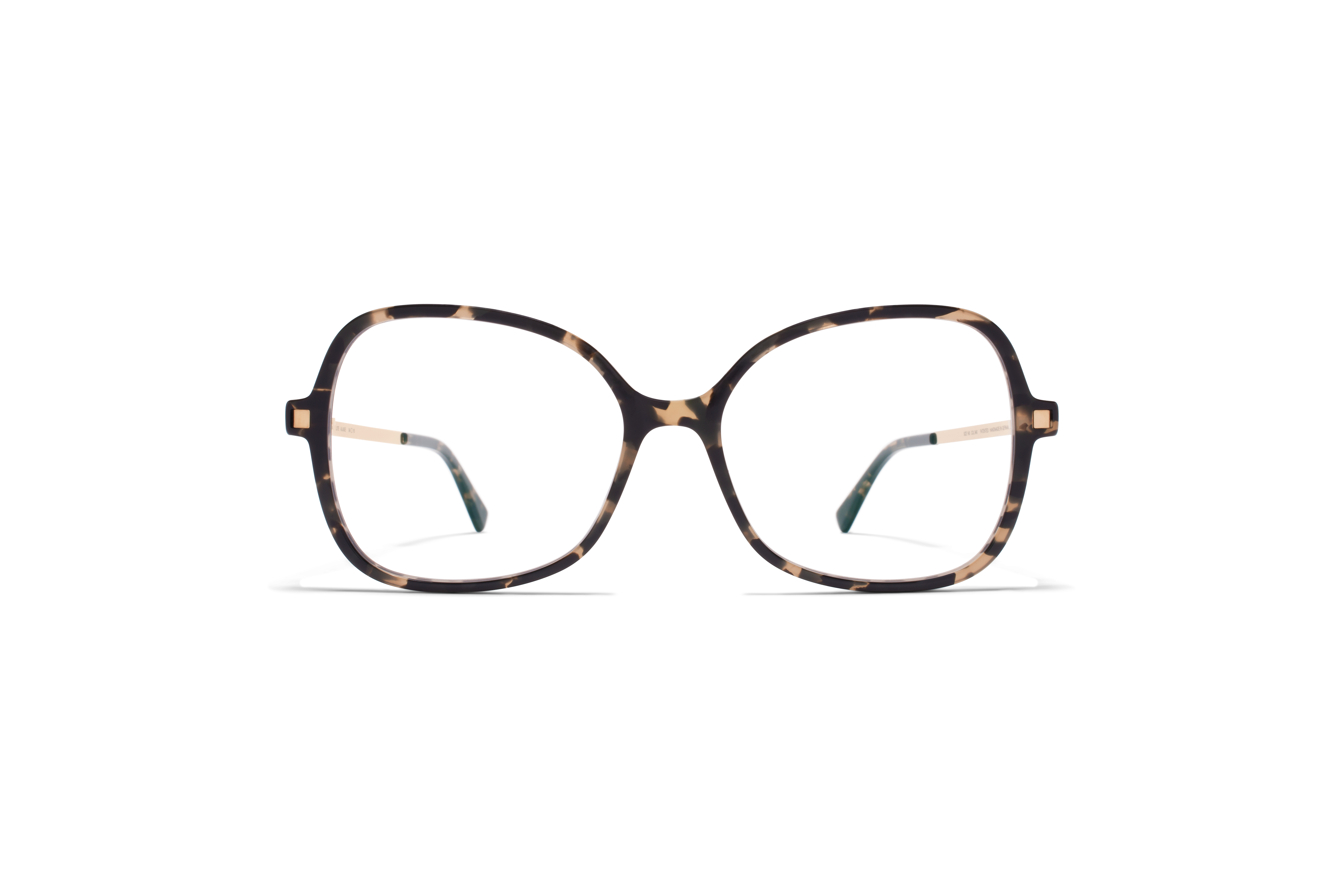 MYKITA Lite Acetate Rx Alasie C22 Antigua Champagne Gold Clear