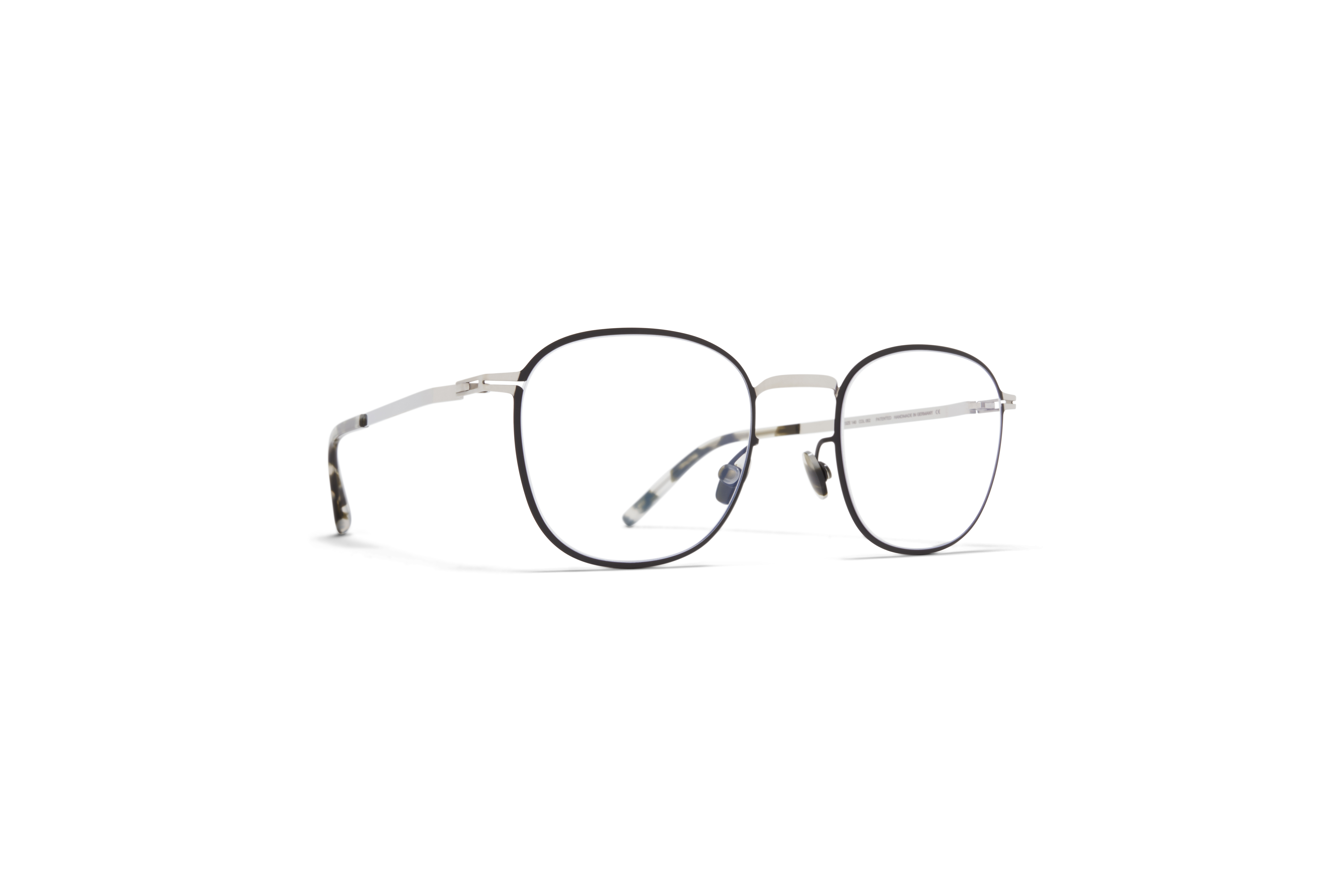 MYKITA Lite Acetate Rx Andersson Silver Black Clear