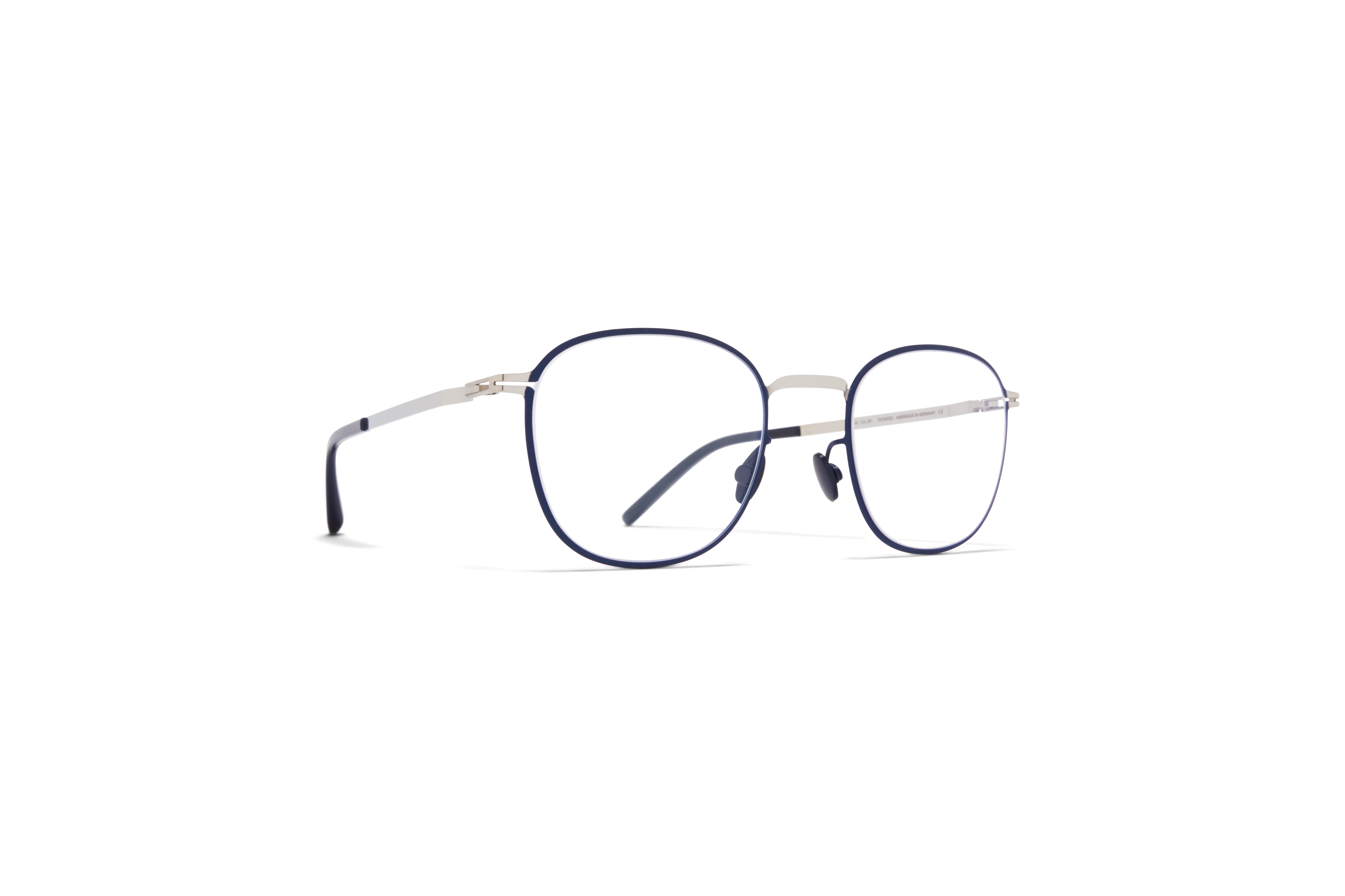 MYKITA Lite Acetate Rx Andersson Silver Navy Clear