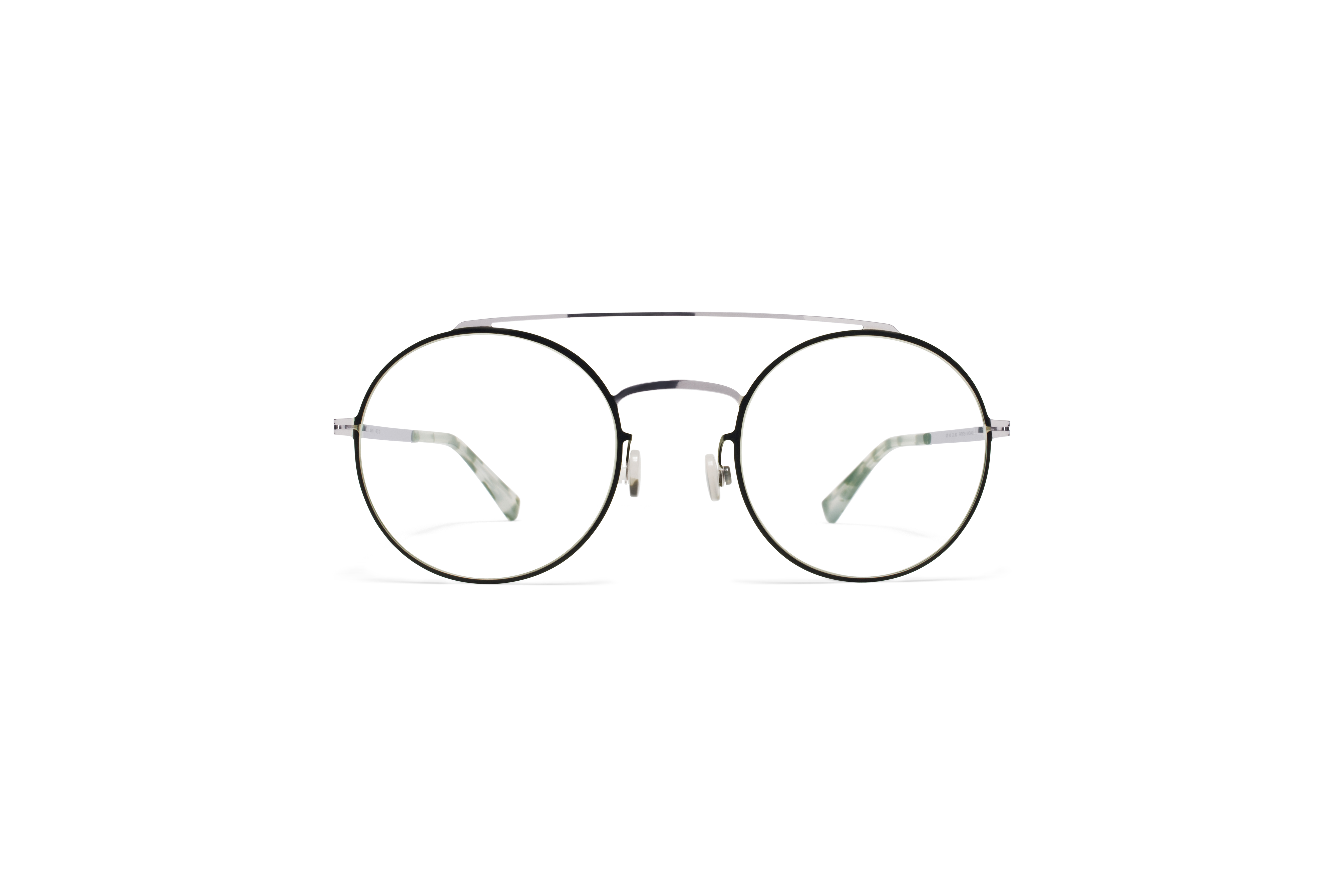 MYKITA Lite Acetate Rx Anyu Silver Black Clear