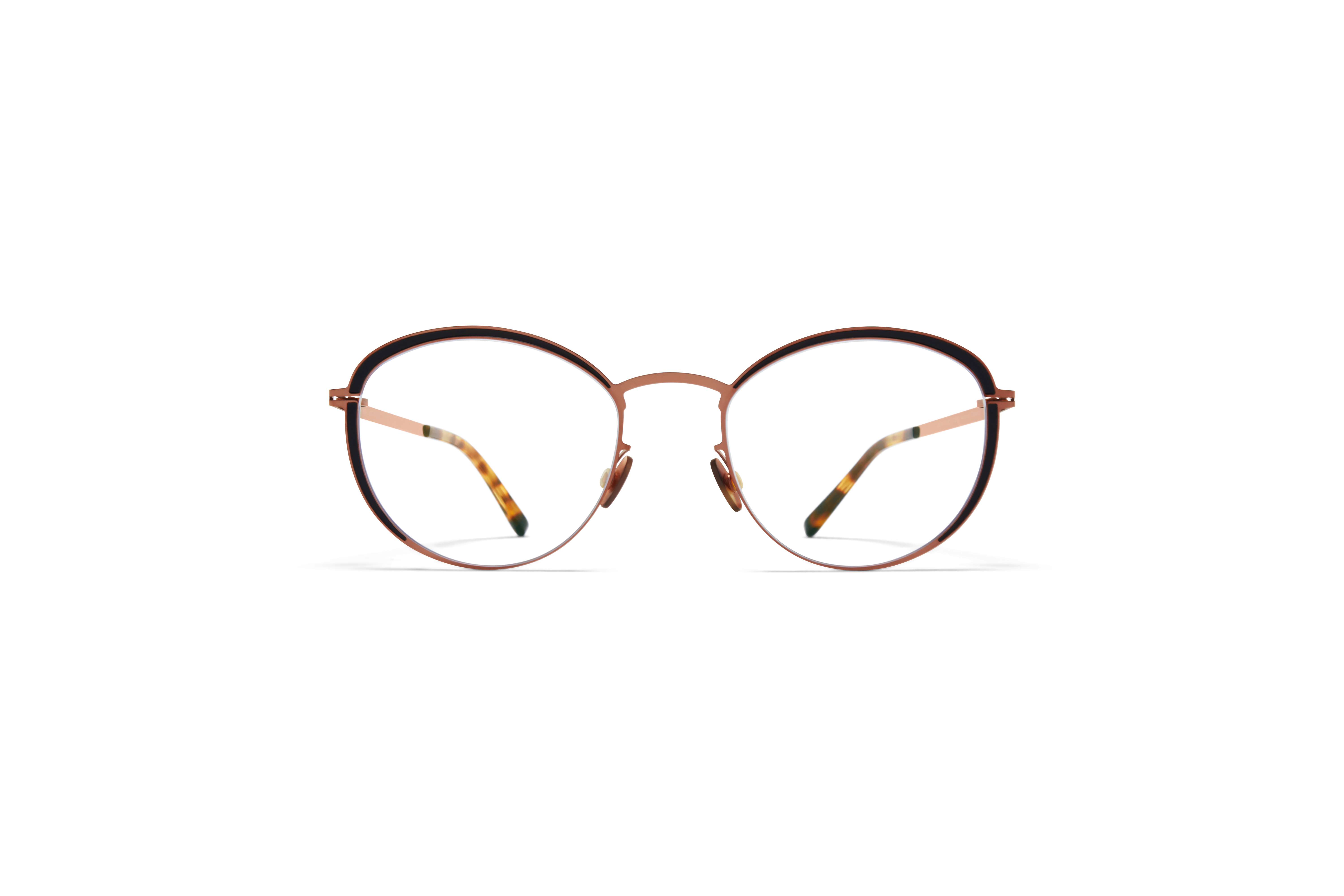 MYKITA Lite Acetate Rx Beulah Shiny Copper Black Clear