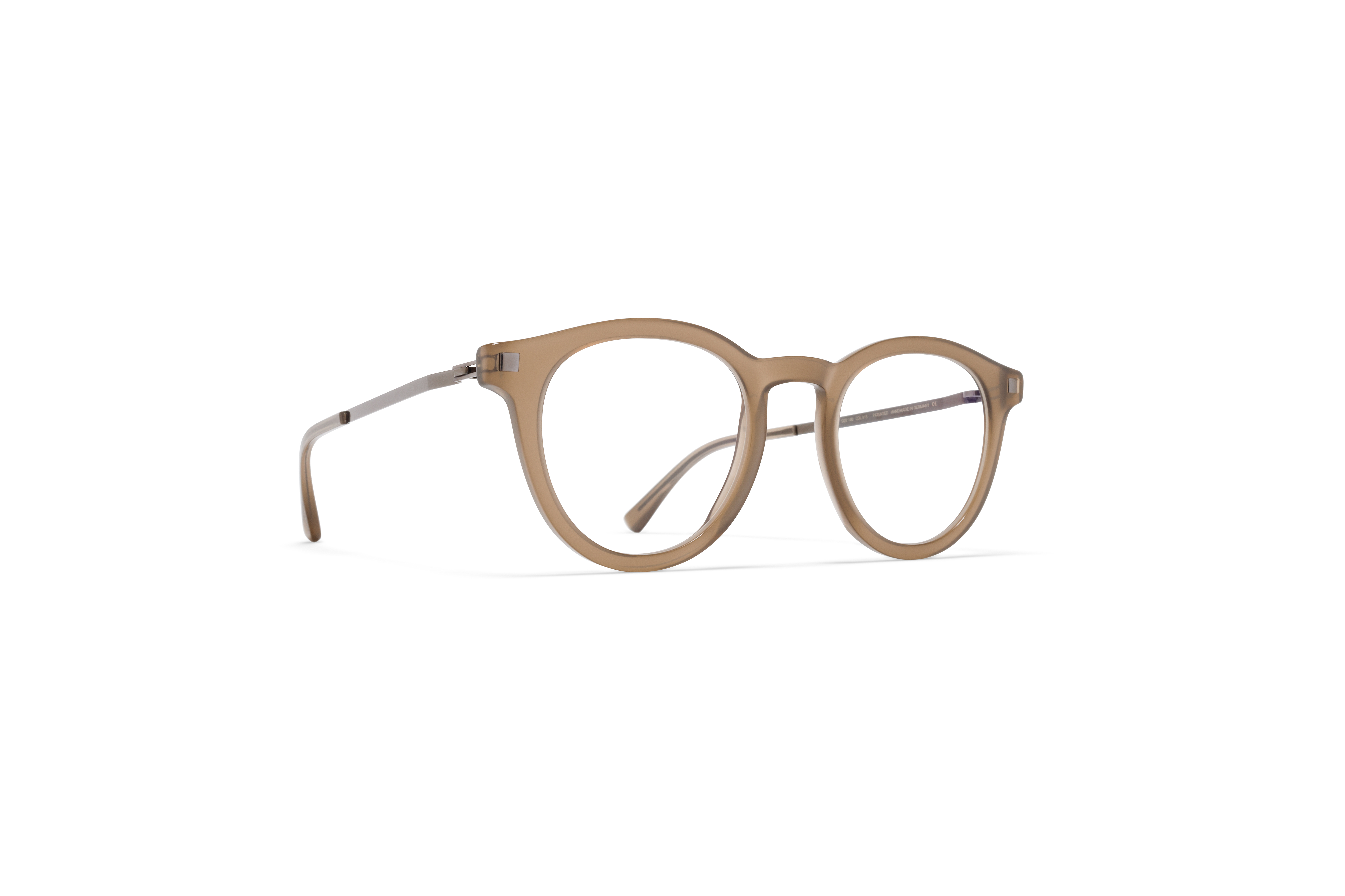 MYKITA Lite Acetate Rx Elve C5 Taupe Shiny Graphit59fc3b6fa2bd7