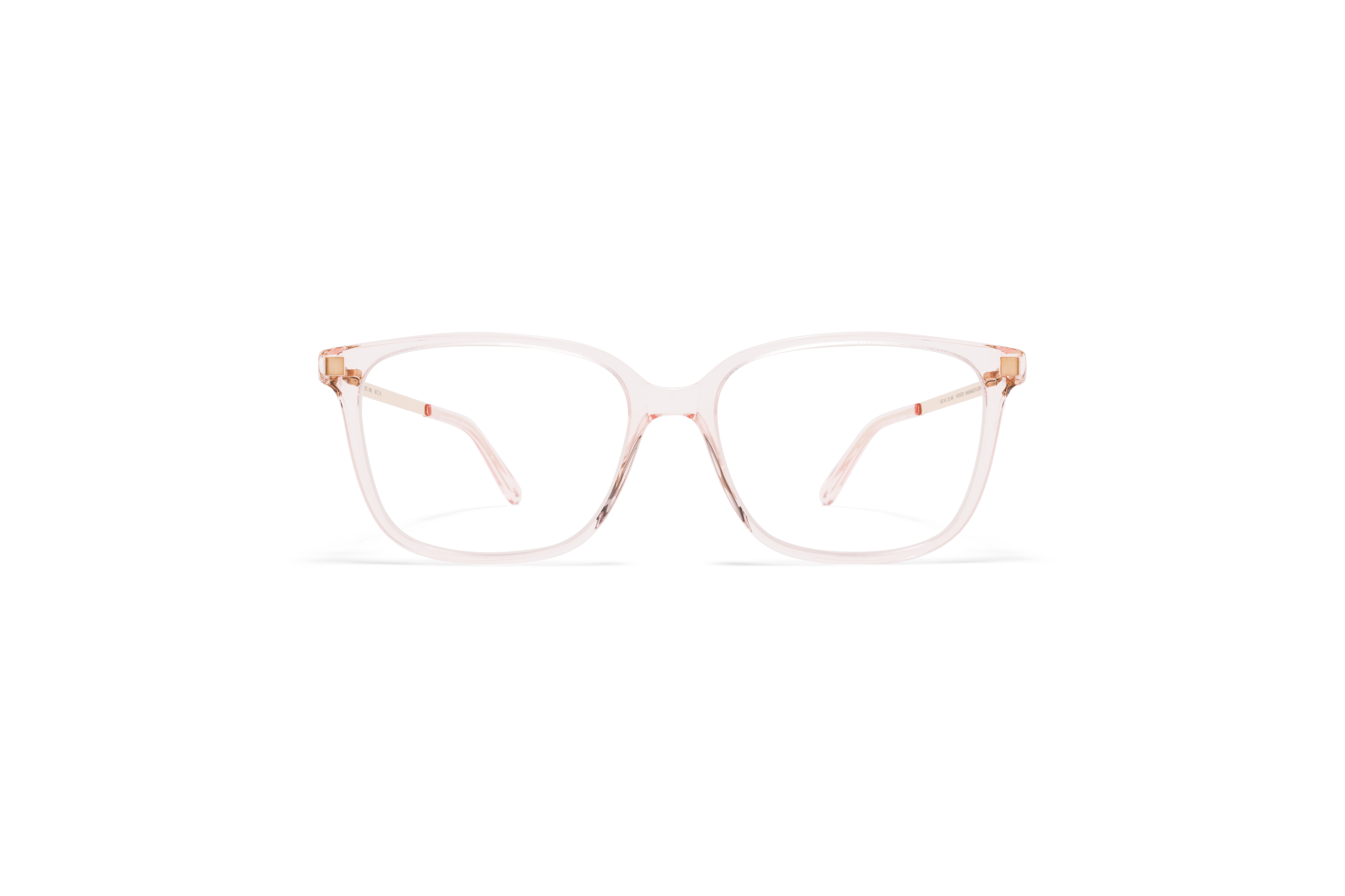 MYKITA Lite Acetate Rx Inki C20 Rose Water Champagne Gold Clear