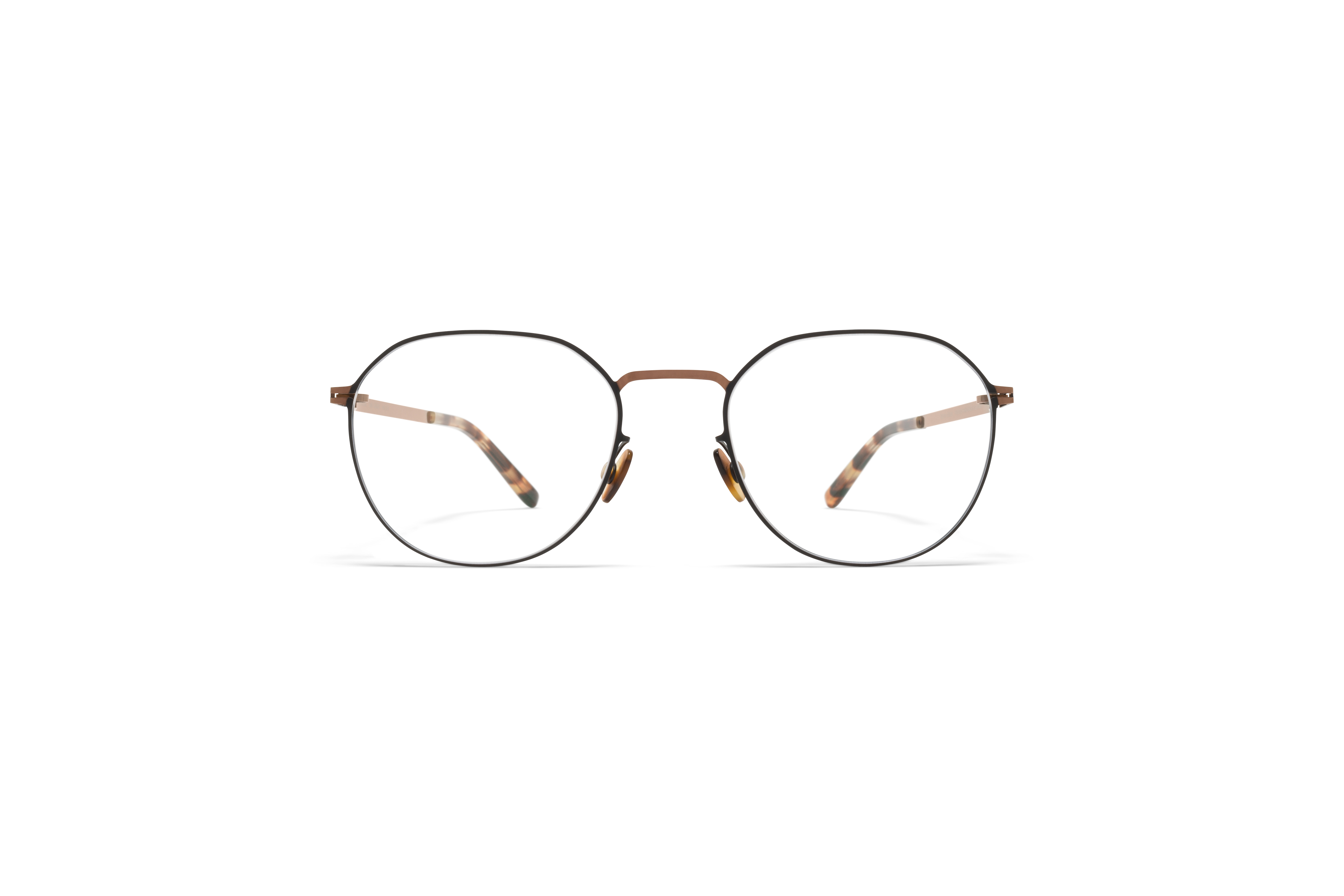 MYKITA Lite Acetate Rx Julius Shiny Copper Black Clear