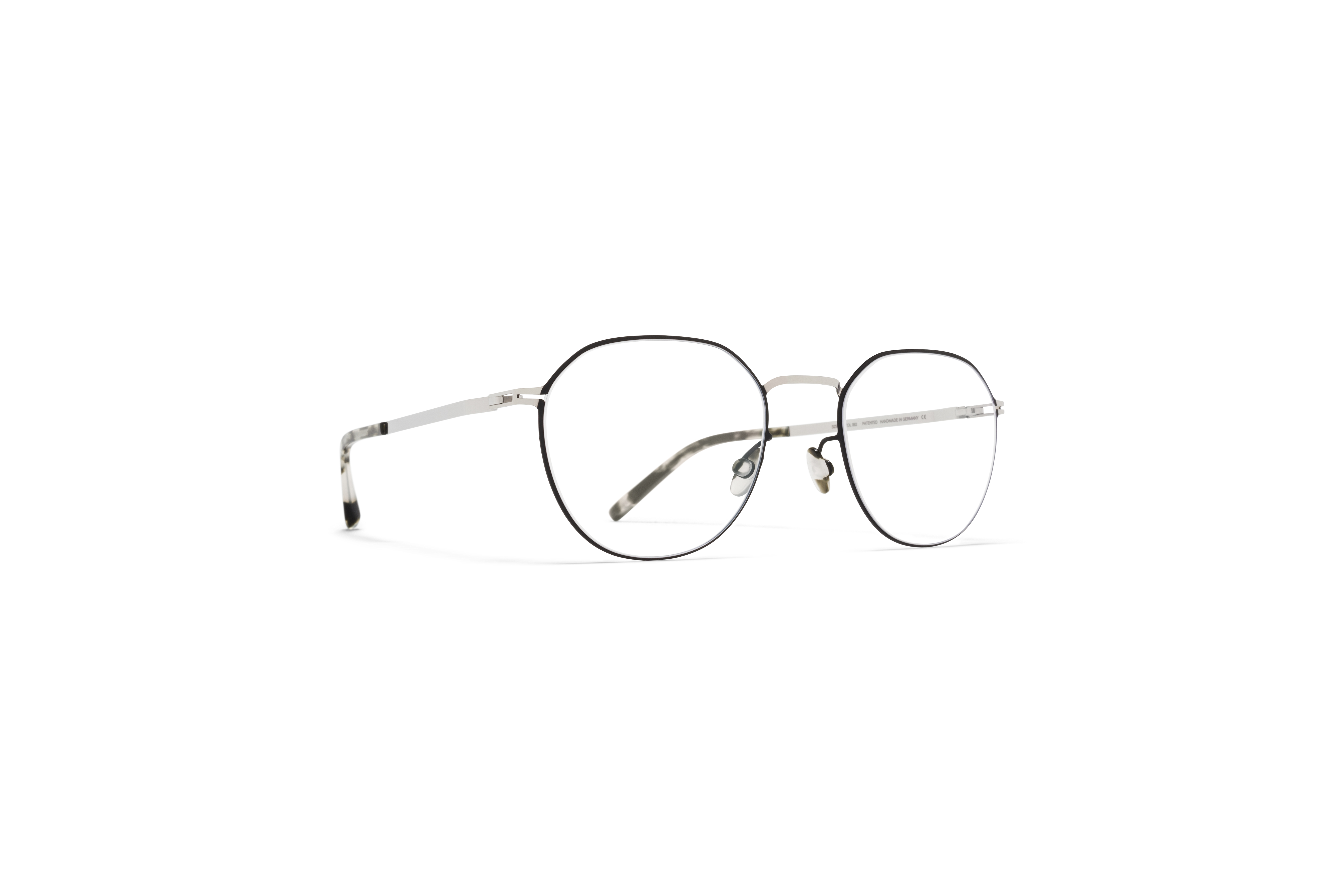 MYKITA Lite Acetate Rx Julius Silver Black Clear