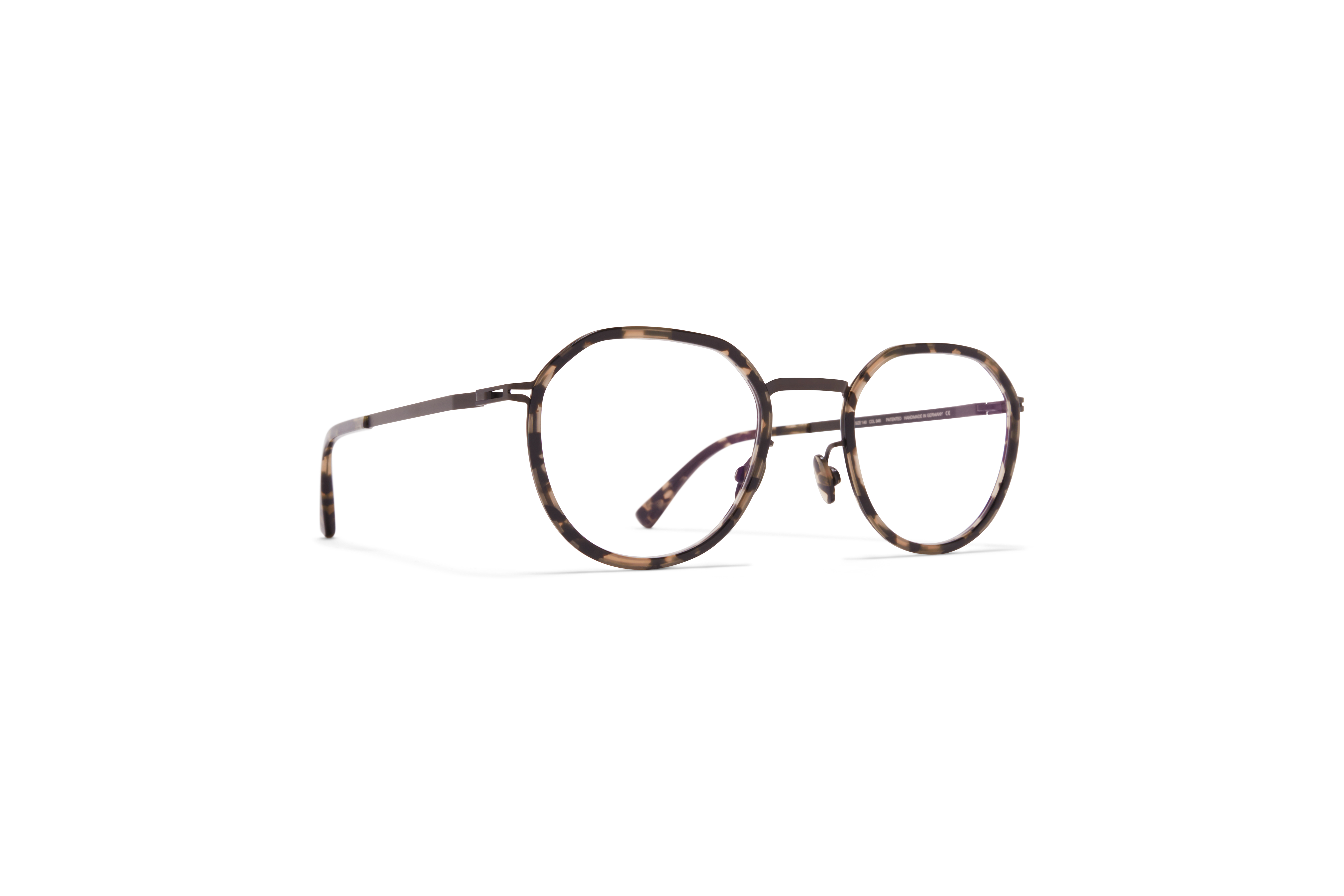 MYKITA Lite Acetate Rx Justus A16 Black Antigua Clear
