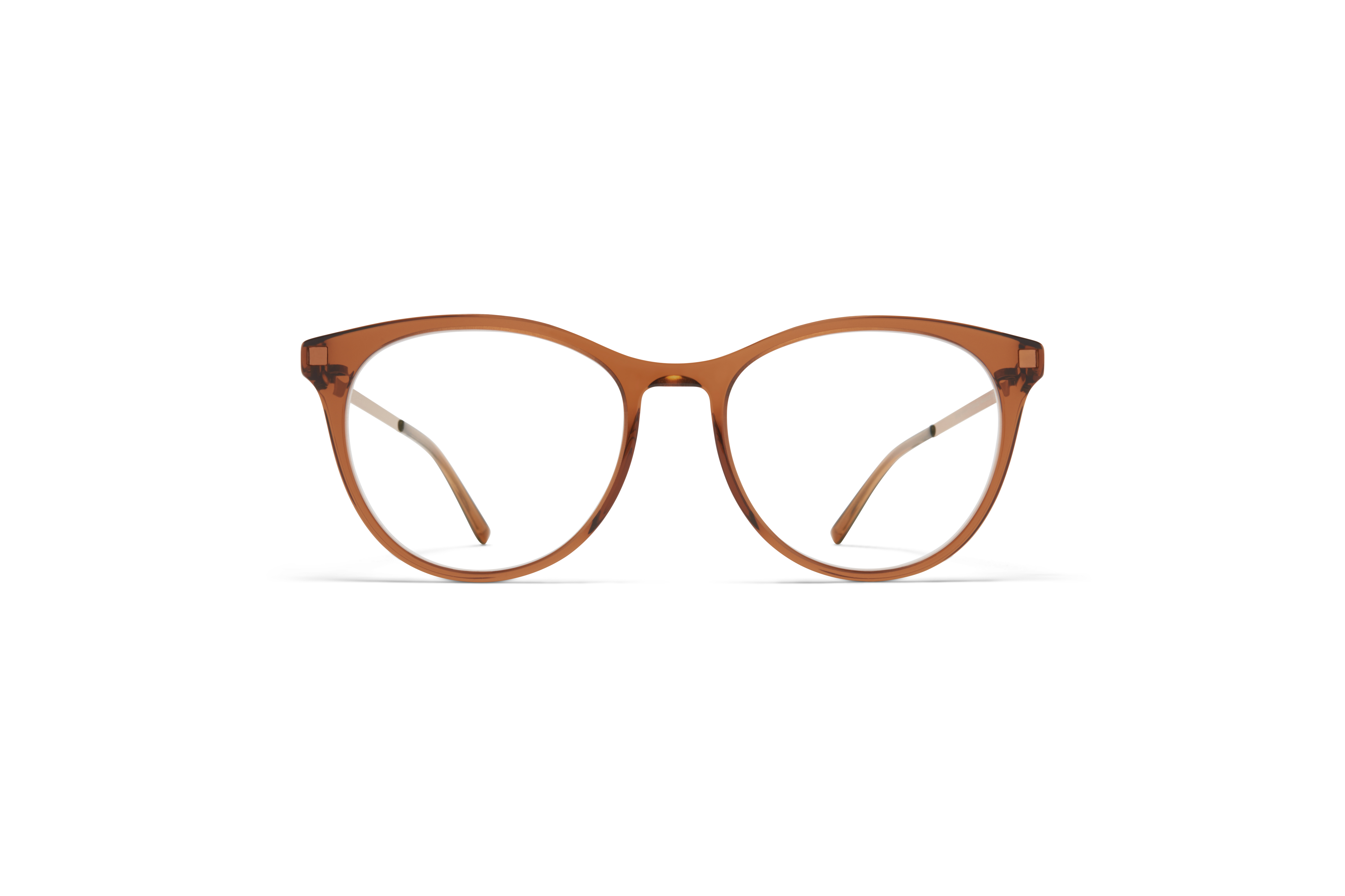MYKITA Lite Acetate Rx Livli C73 Topaz Shiny Copper Clear