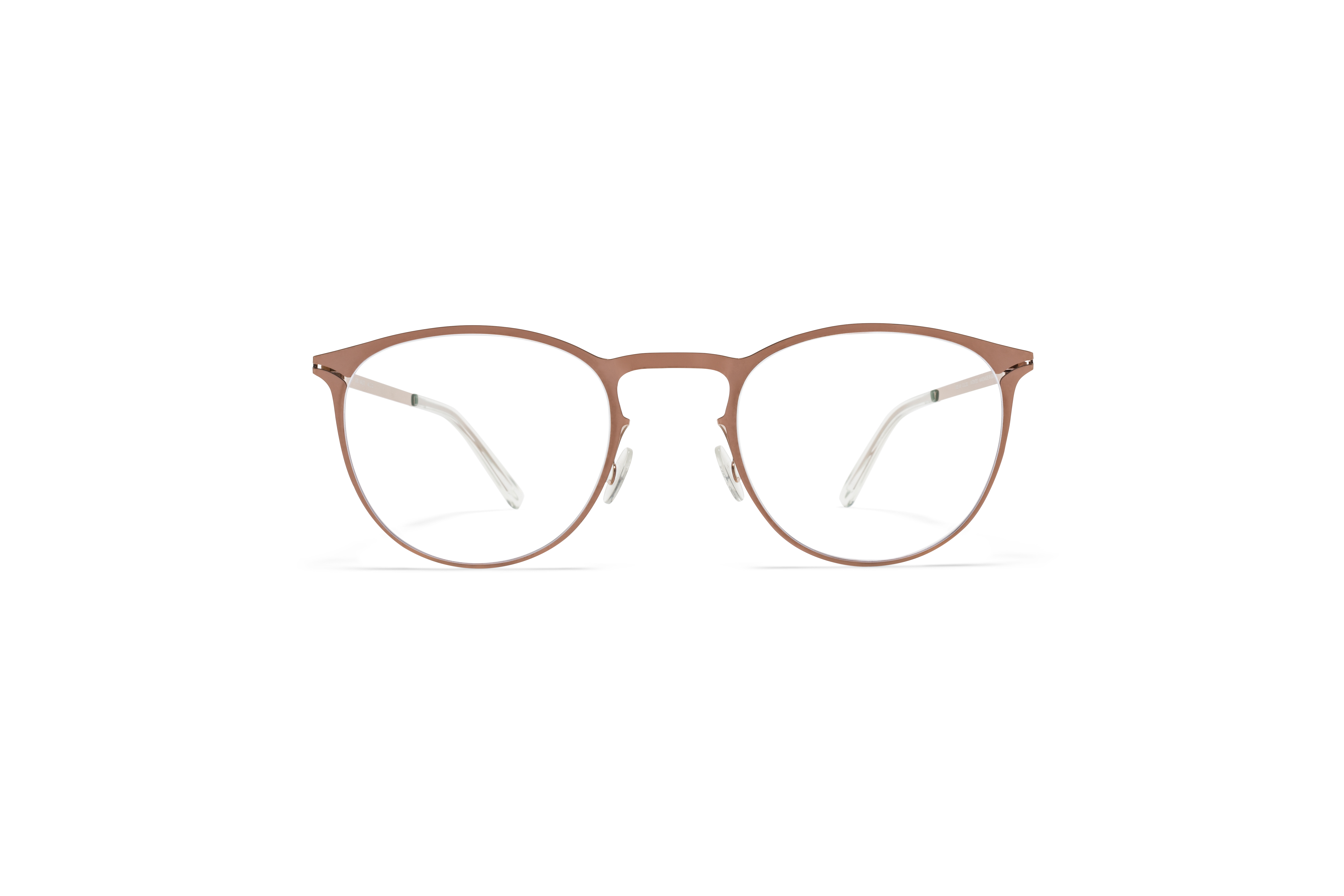 MYKITA Lite Acetate Rx Malte Shiny Copper Clear