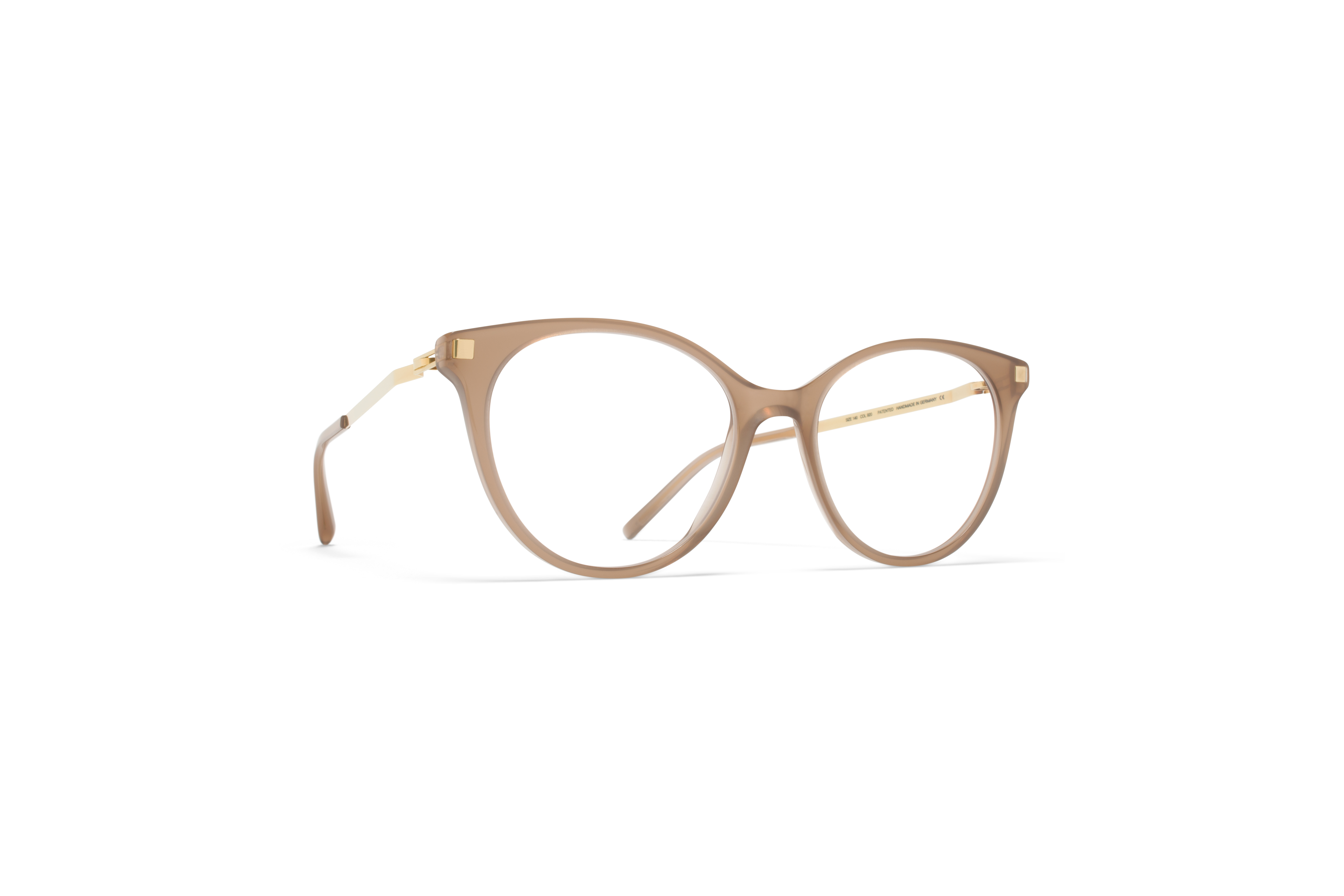 MYKITA Lite Acetate Rx Nanook C7 Taupe Glossygold5808acc5a4218