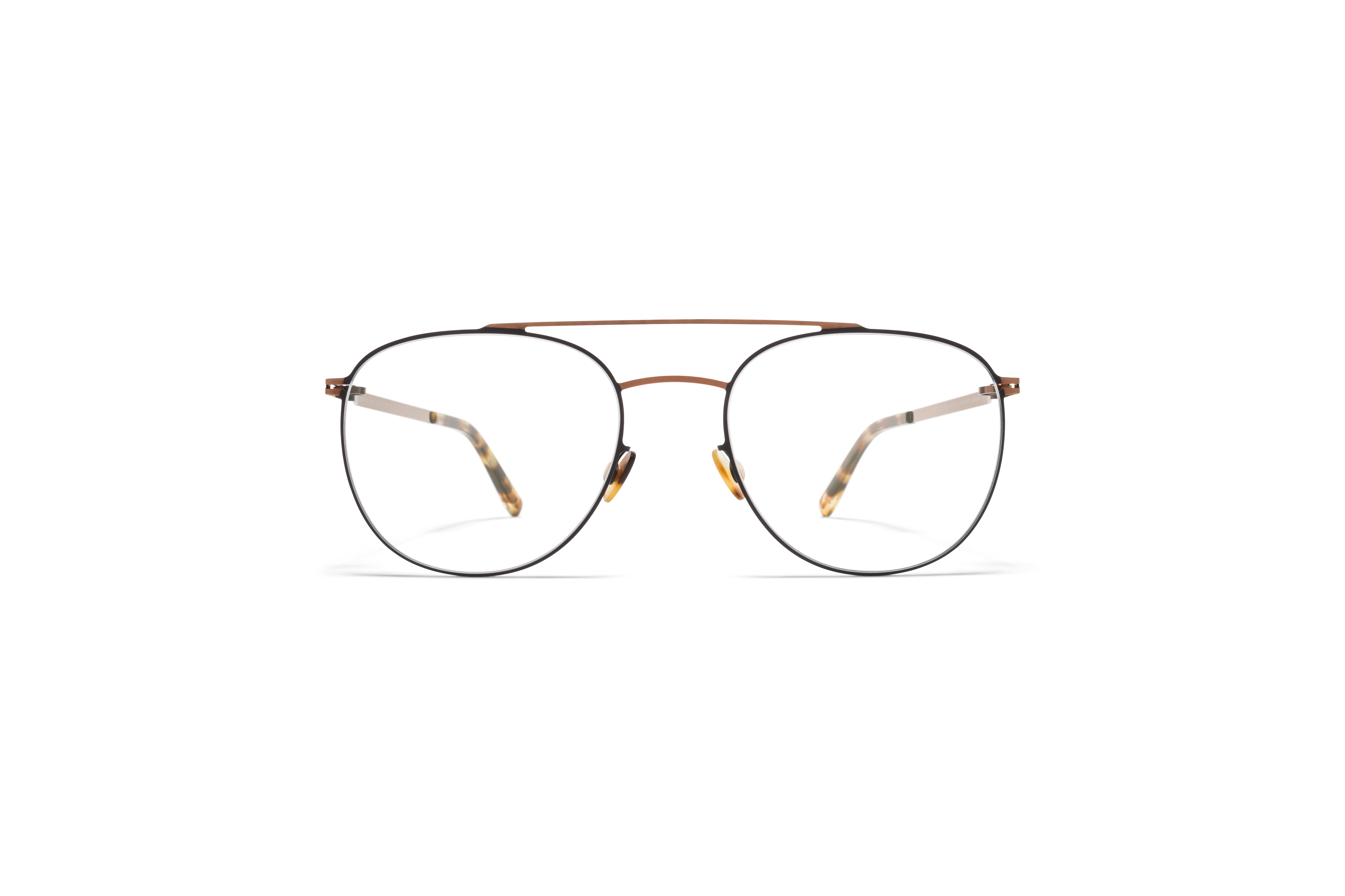 MYKITA Lite Acetate Rx Nilsson Shiny Copper Black Clear