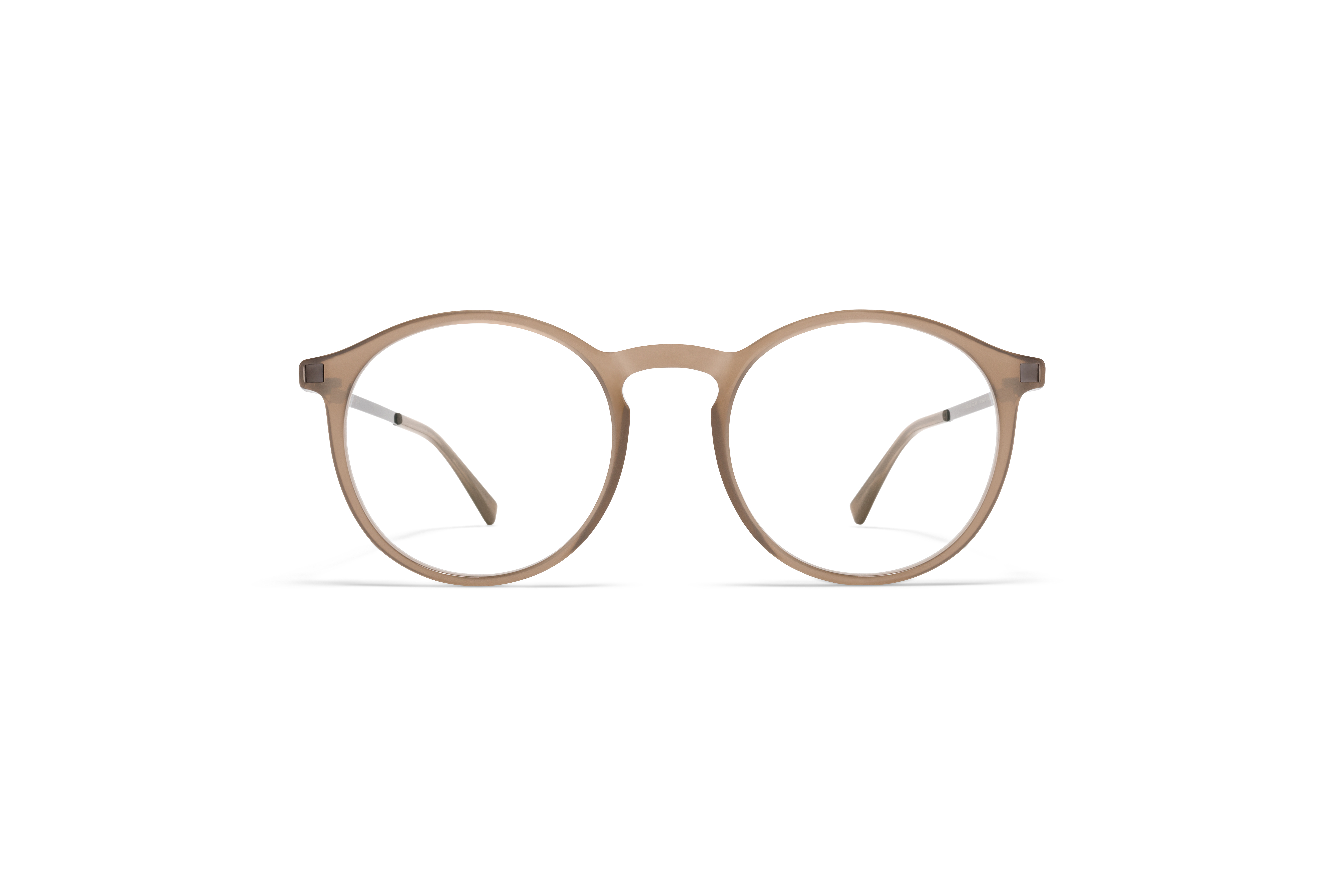MYKITA Lite Acetate Rx Oki C5 Taupe Shiny Graphite Clear