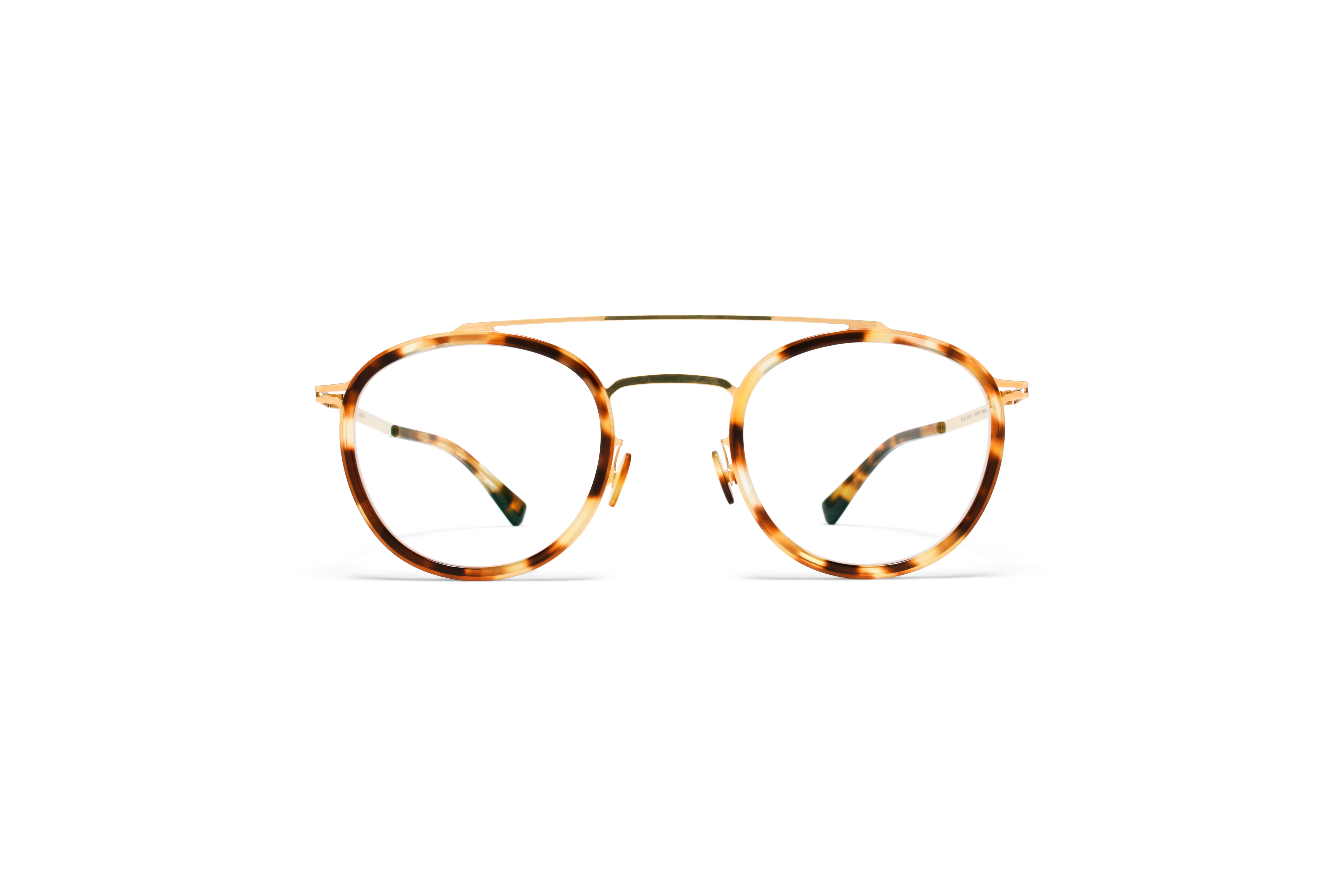 MYKITA Lite Acetate Rx Olli A24 Glossy Gold Cocoa58ab0b1460f4d