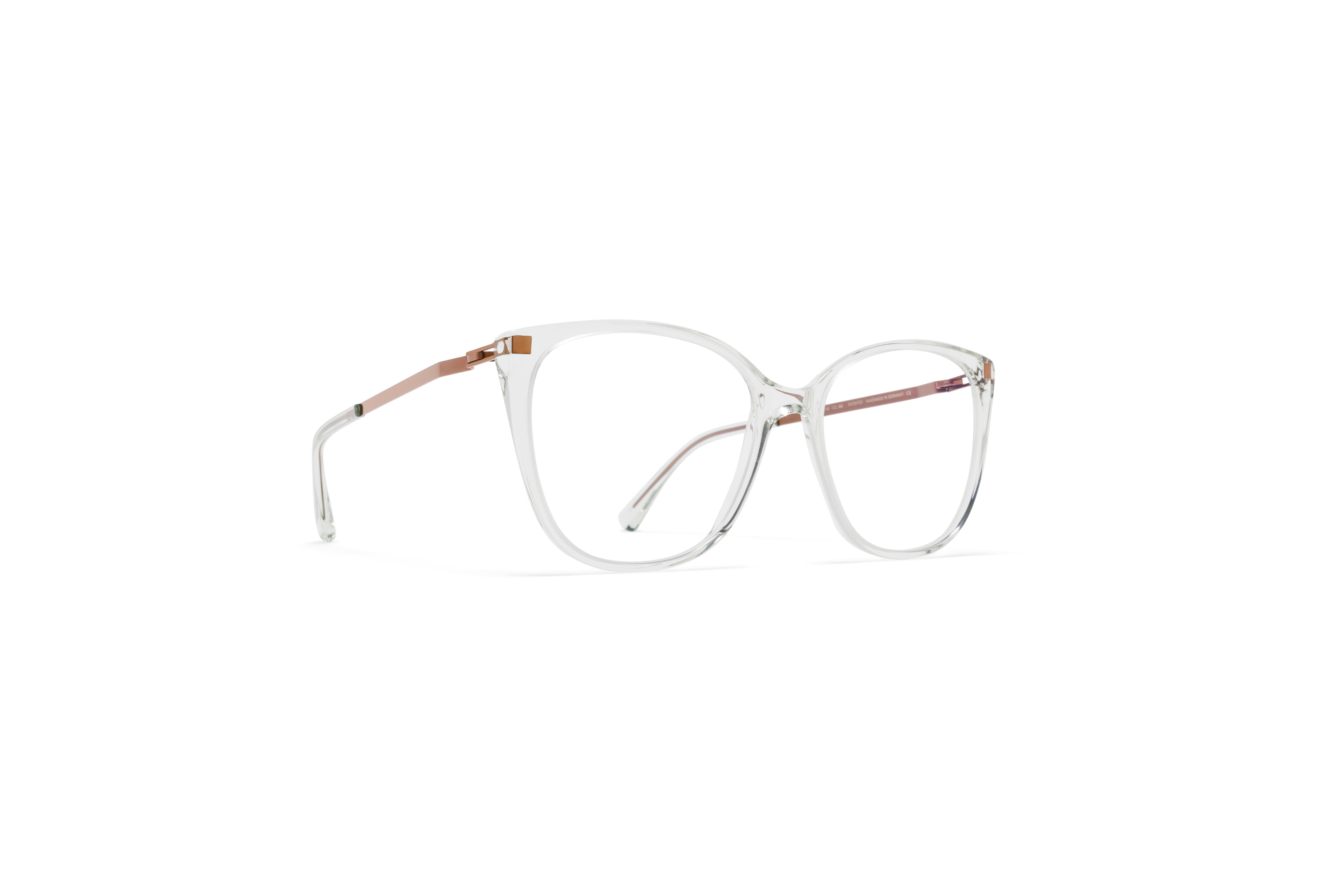 MYKITA Lite Acetate Rx Osha C45 Mint Water Shiny Copper Clear