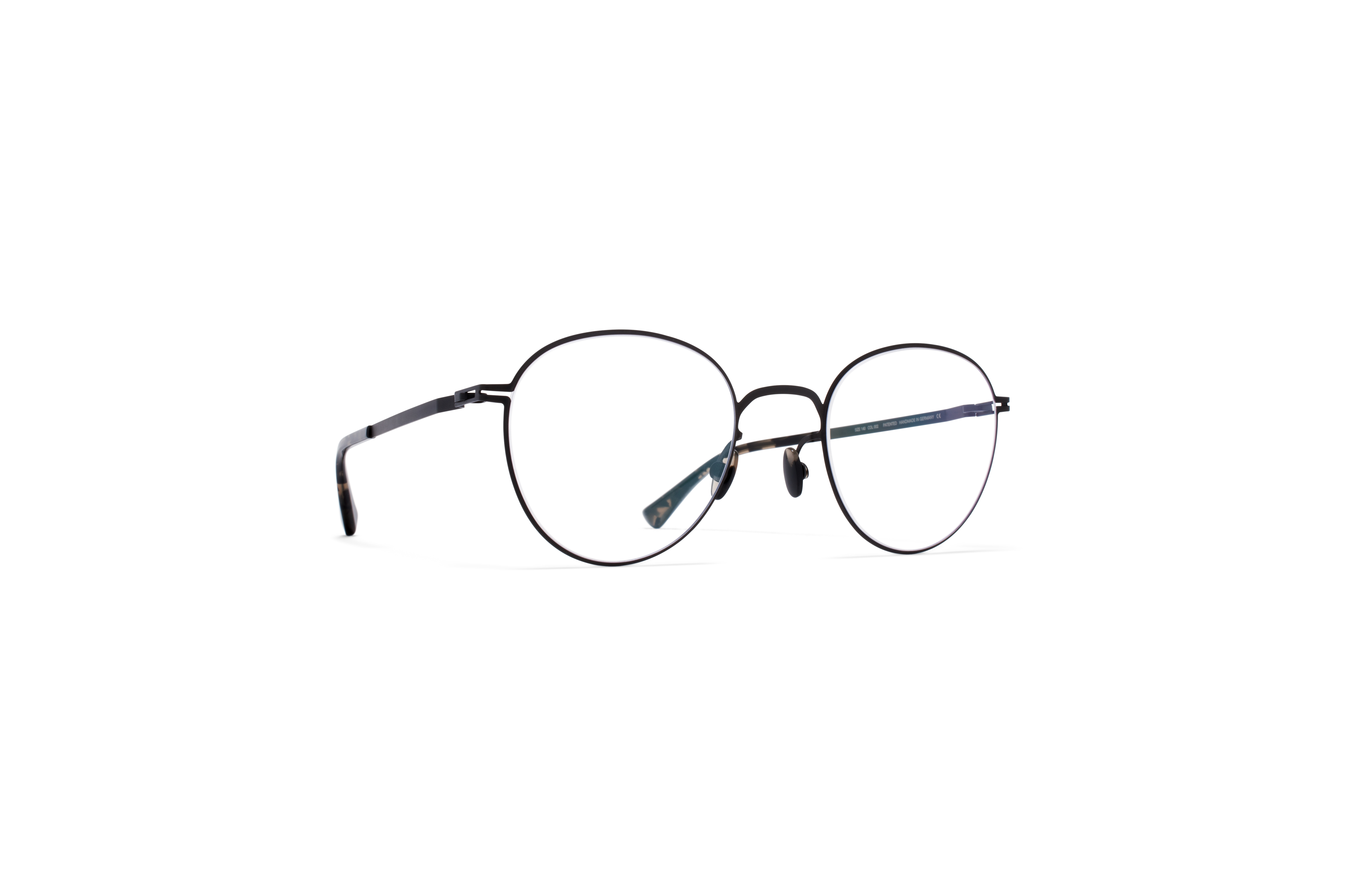 MYKITA Lite Acetate Rx Ove Black Clear