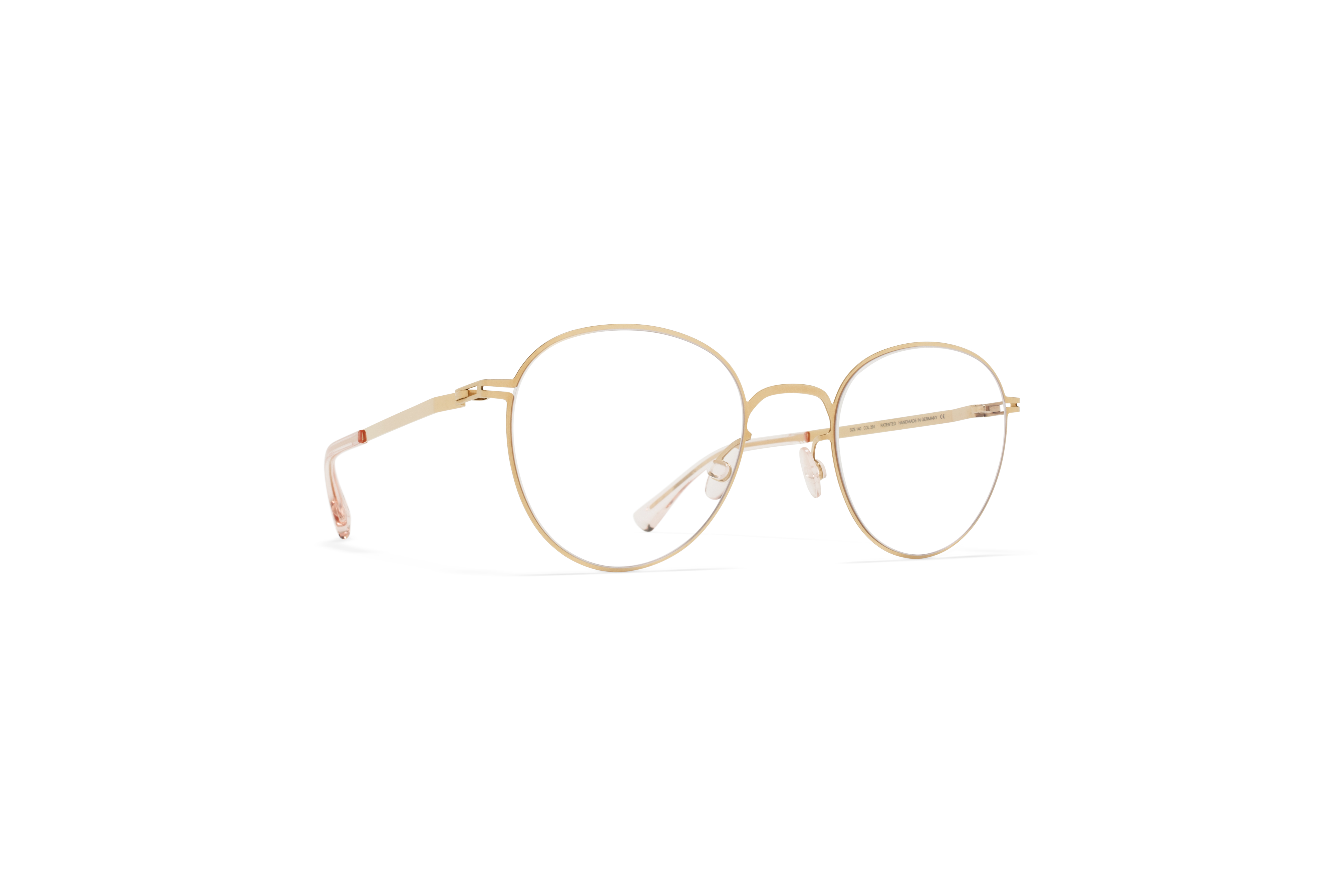 MYKITA Lite Acetate Rx Ove Champagne Gold Clear