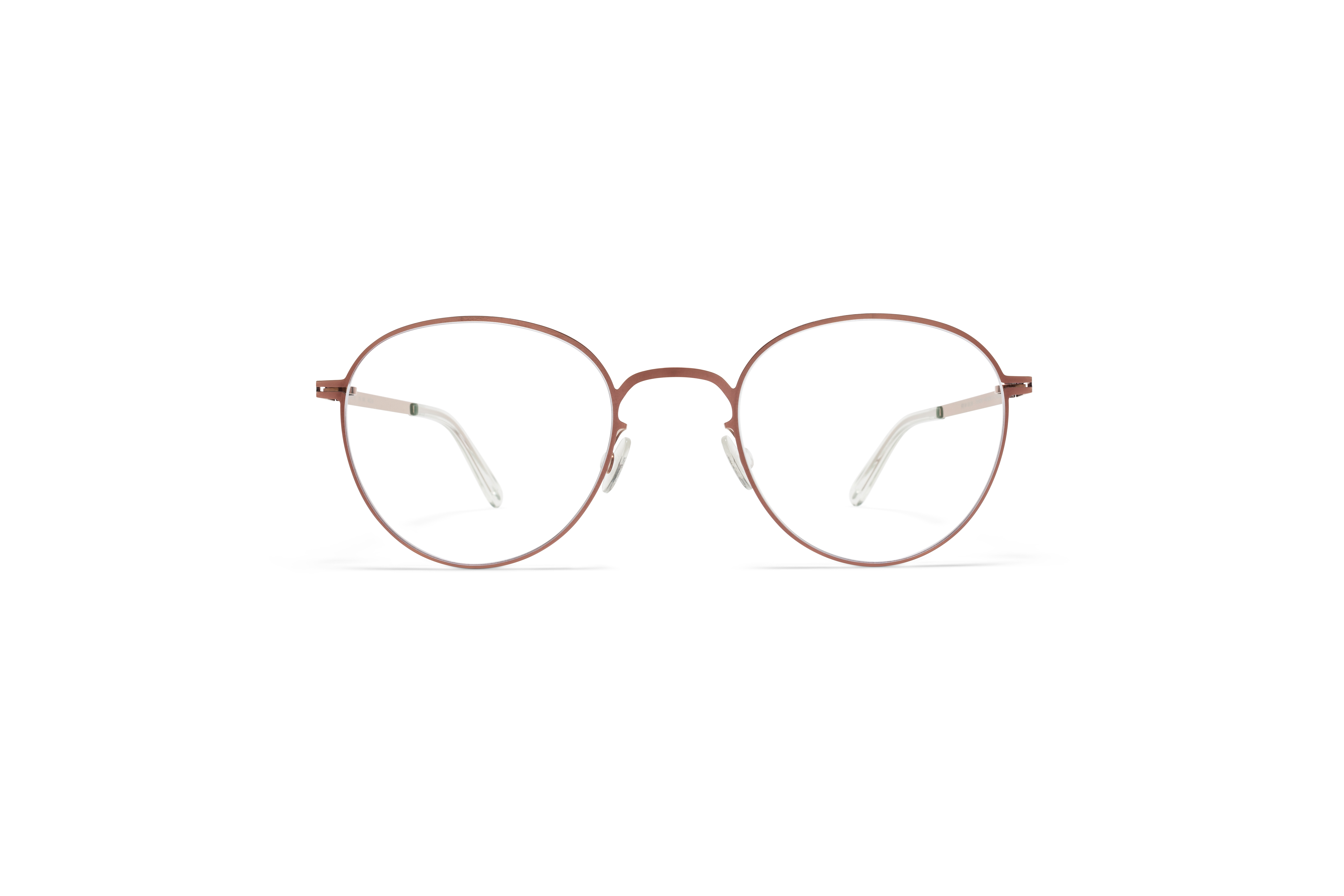 MYKITA Lite Acetate Rx Ove Shiny Copper Clear