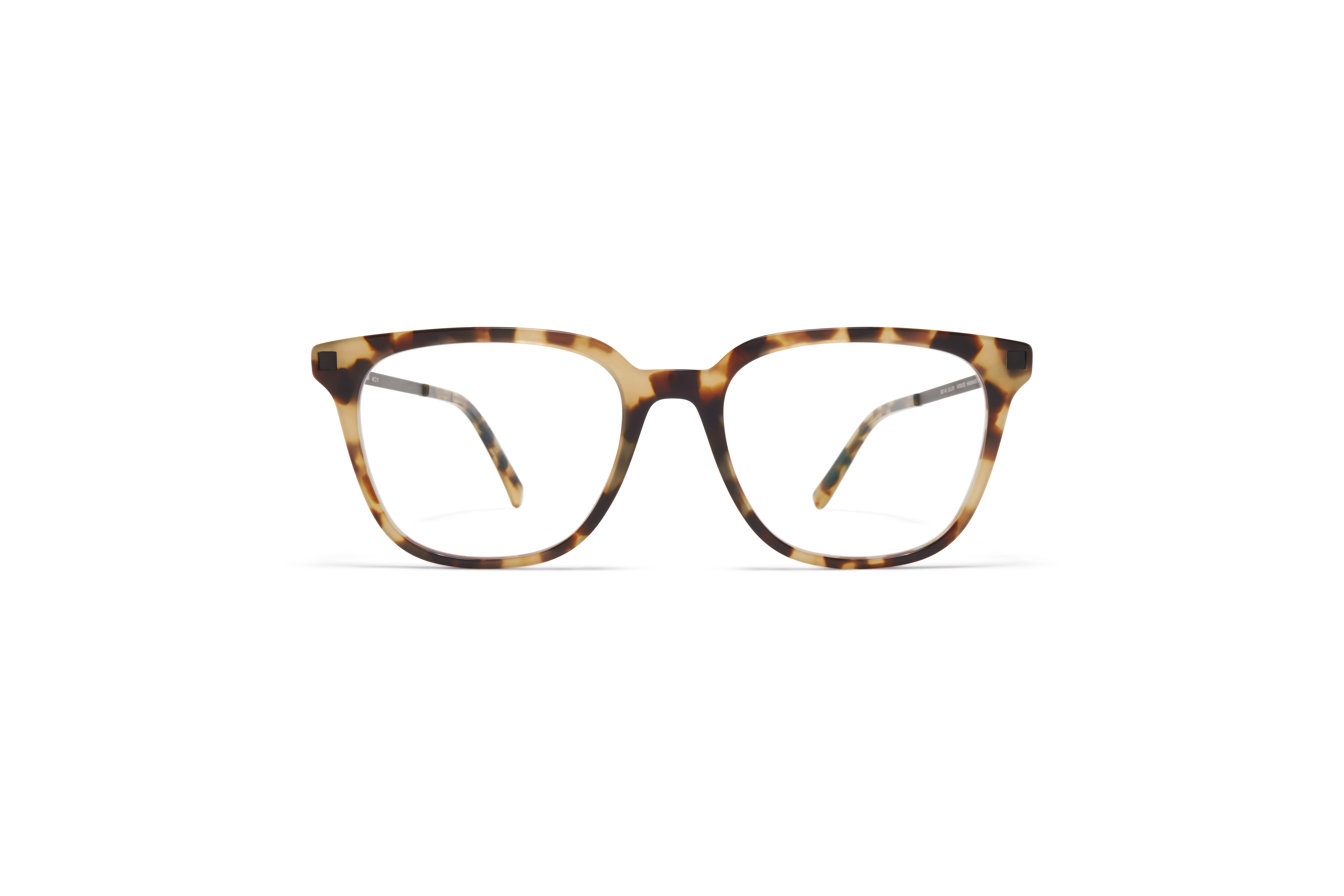 MYKITA Lite Acetate Rx Qvaja C36 Chocolate Chips Black Clear