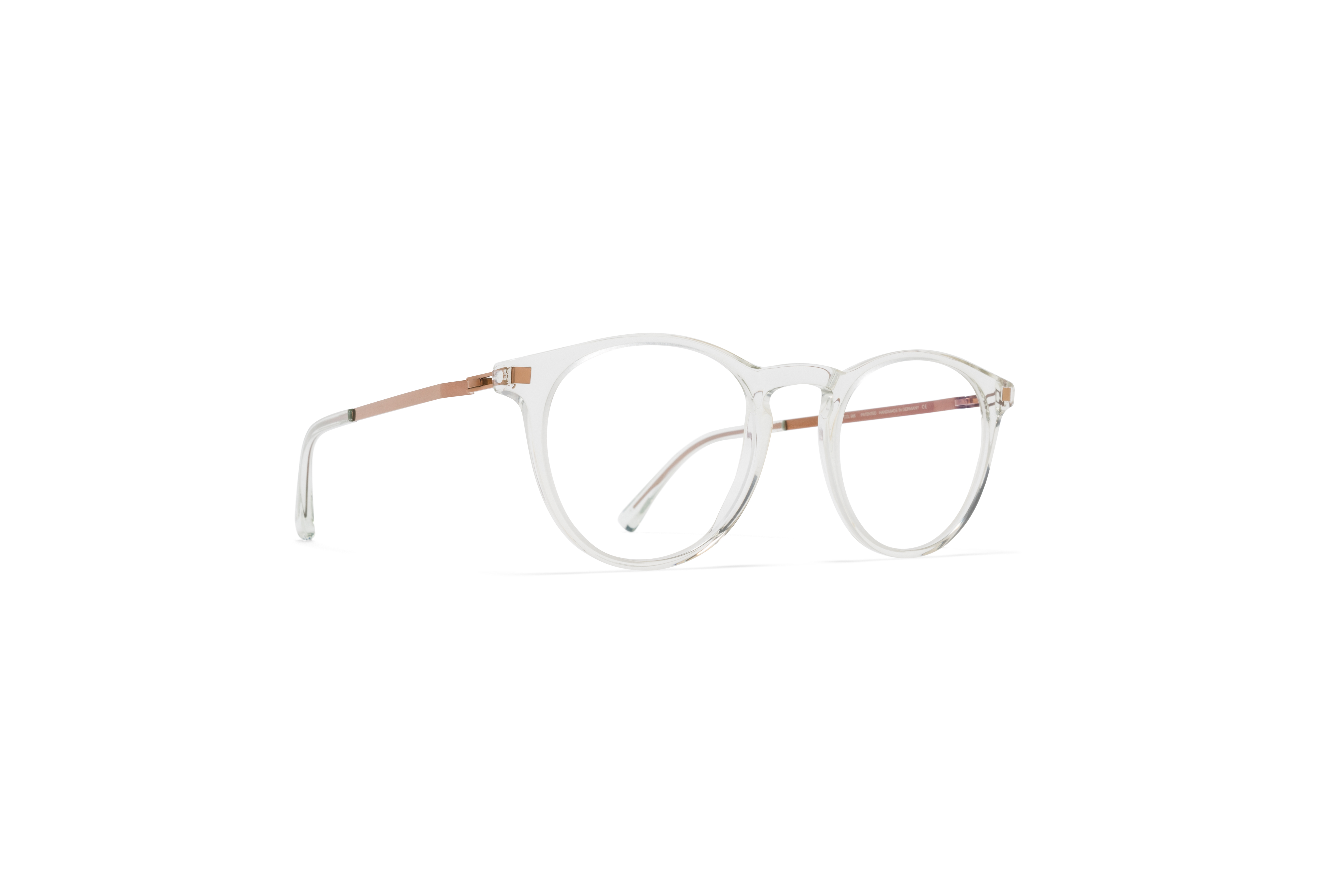 MYKITA Lite Acetate Rx Talini C45 Mint Water Shiny Copper Clear