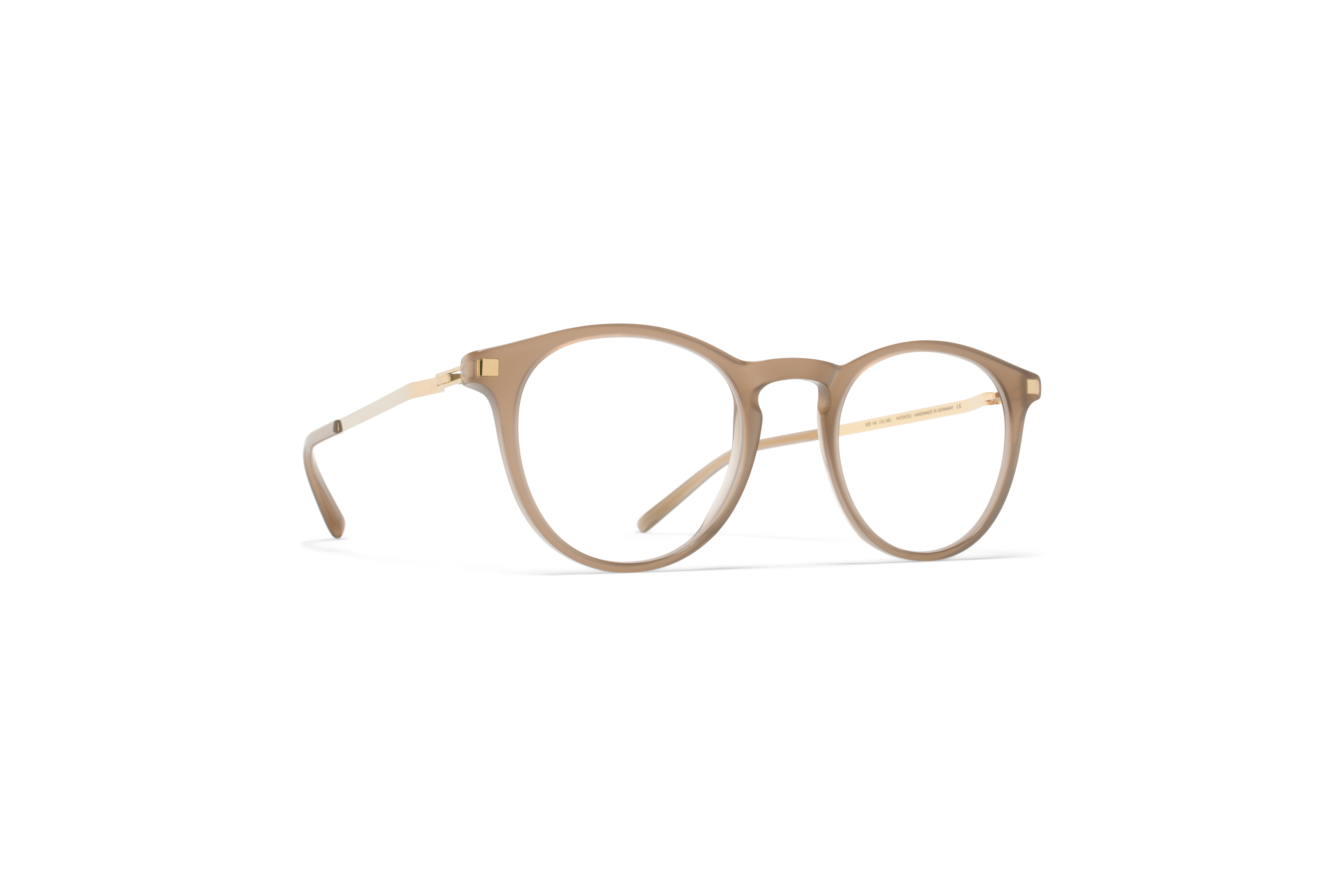 MYKITA Lite Acetate Rx Talini C7 Taupe Glossygold58d308a5d85c6