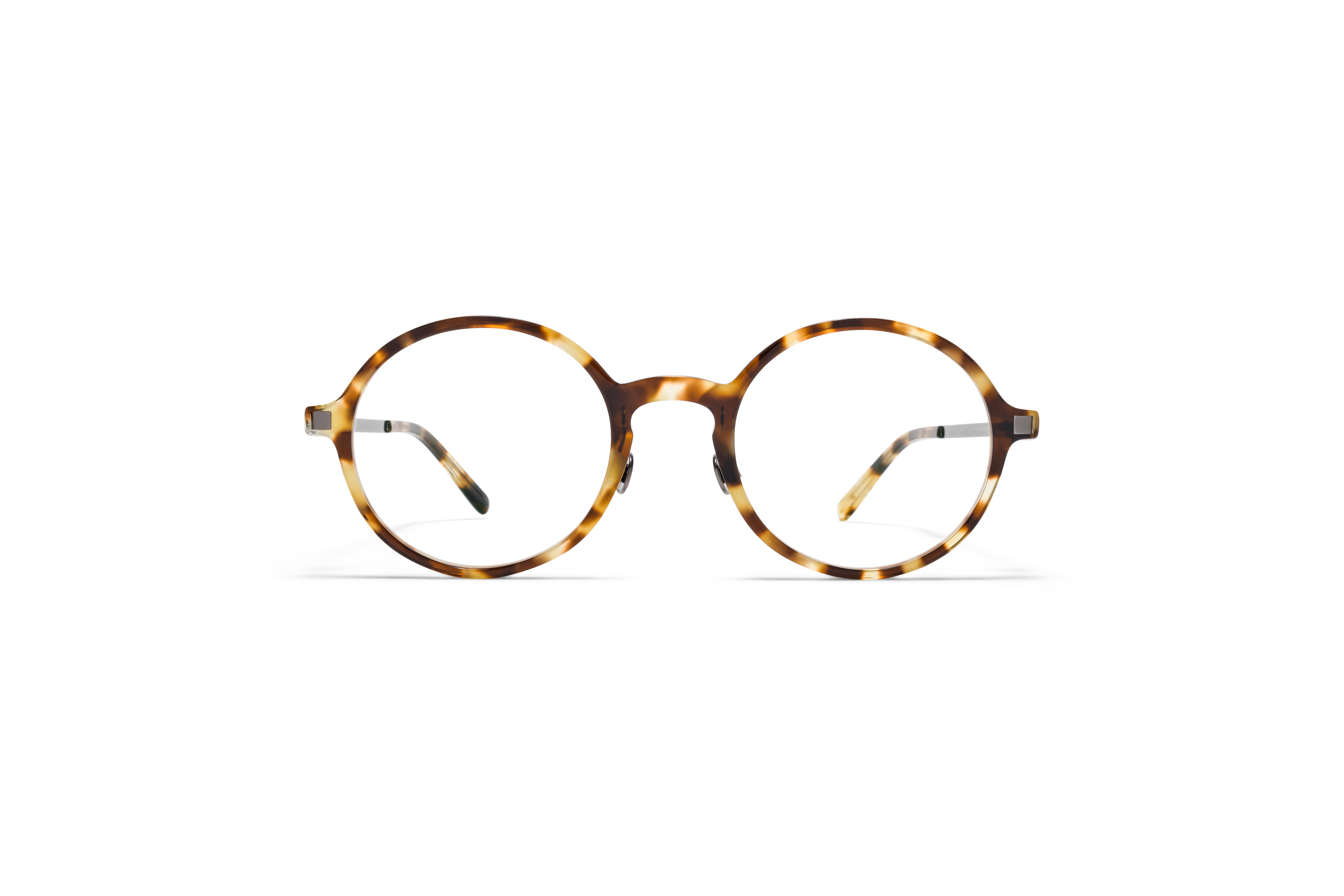 MYKITA Lite Acetate Rx Tomkin C3 Cocoa Sprinkles Shiny Graphite Clear