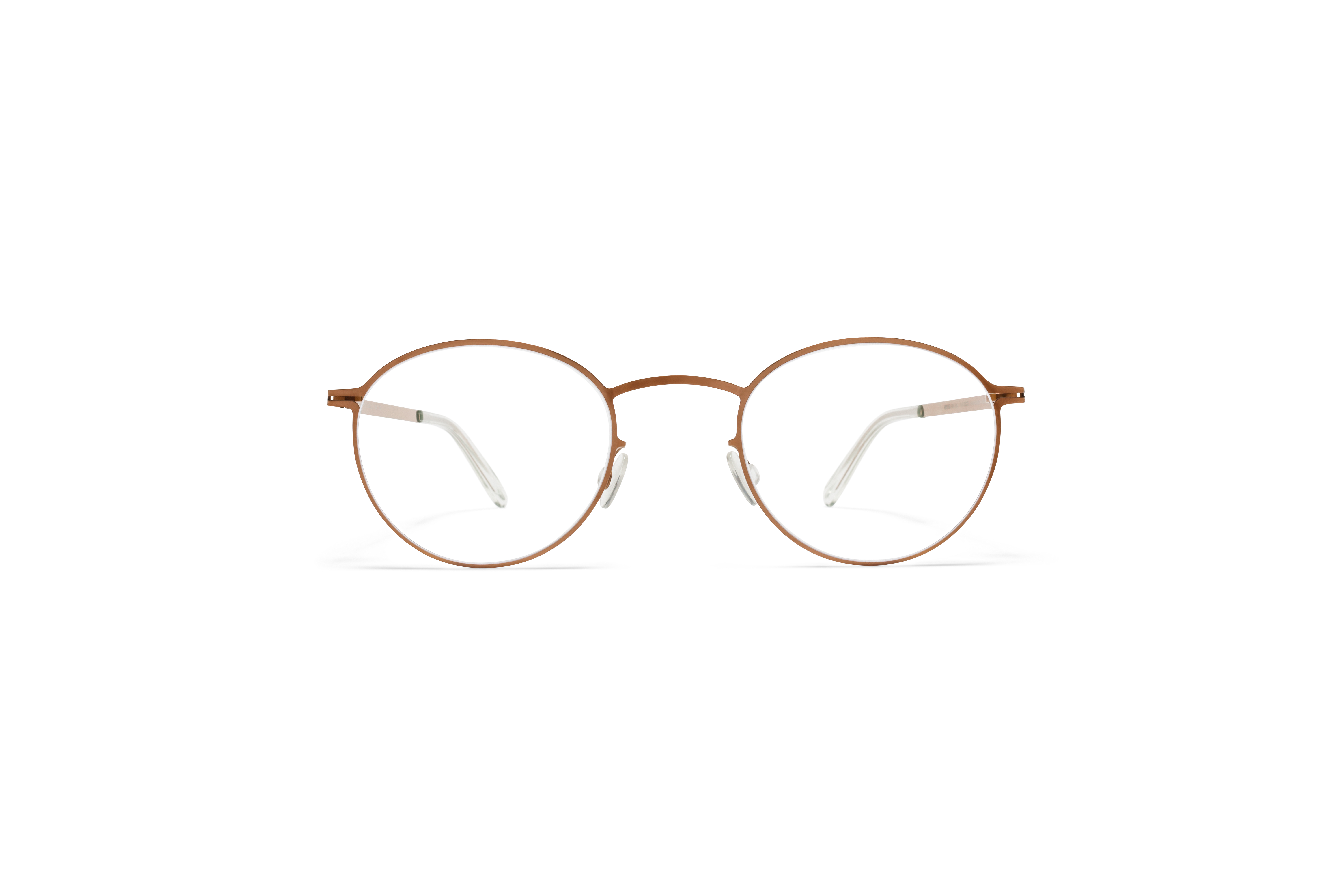 MYKITA Lite Acetate Rx Tona Shiny Copper Clear