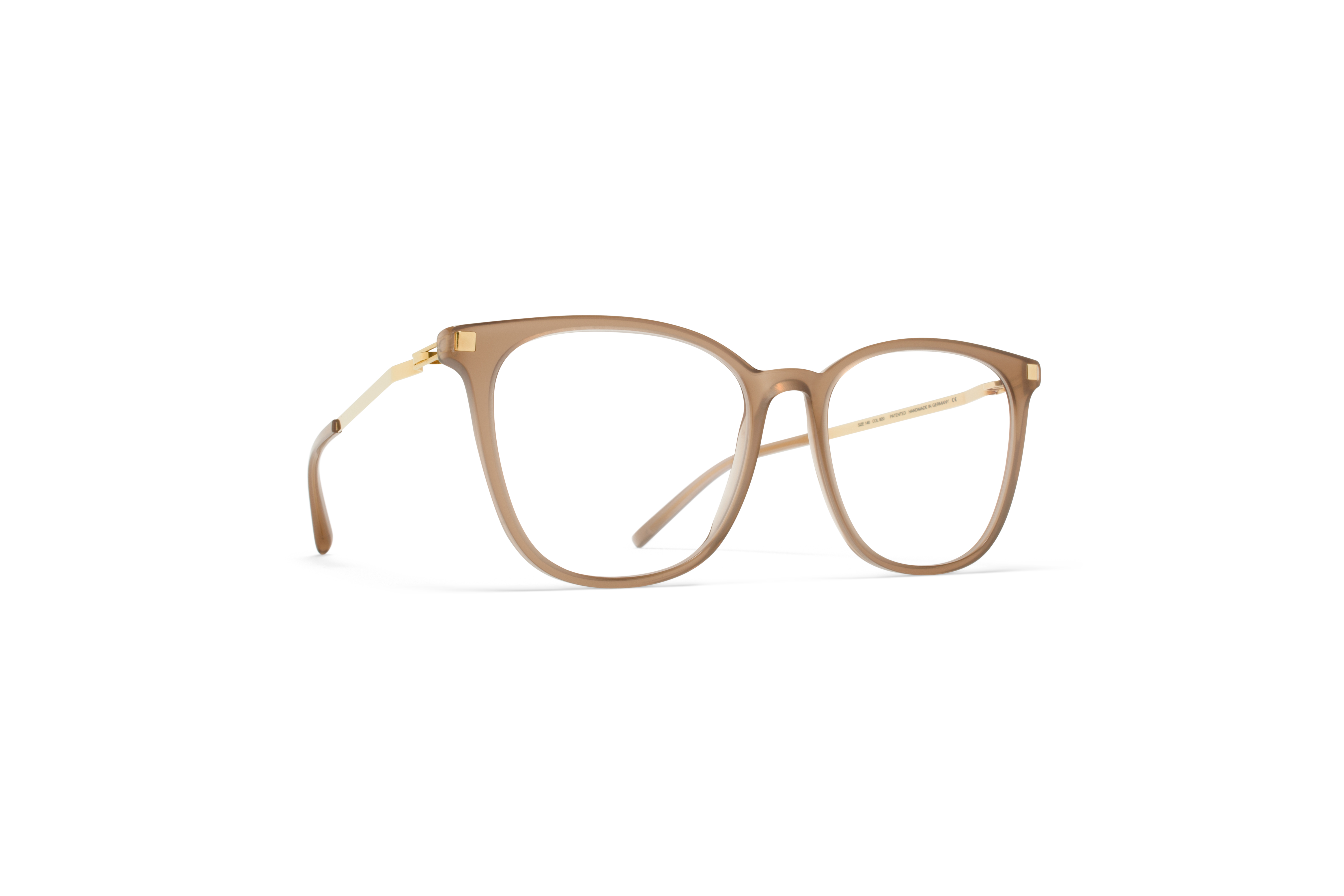 MYKITA Lite Acetate Rx Zima C7 Taupe Glossygold Cl5808ad86d04c3