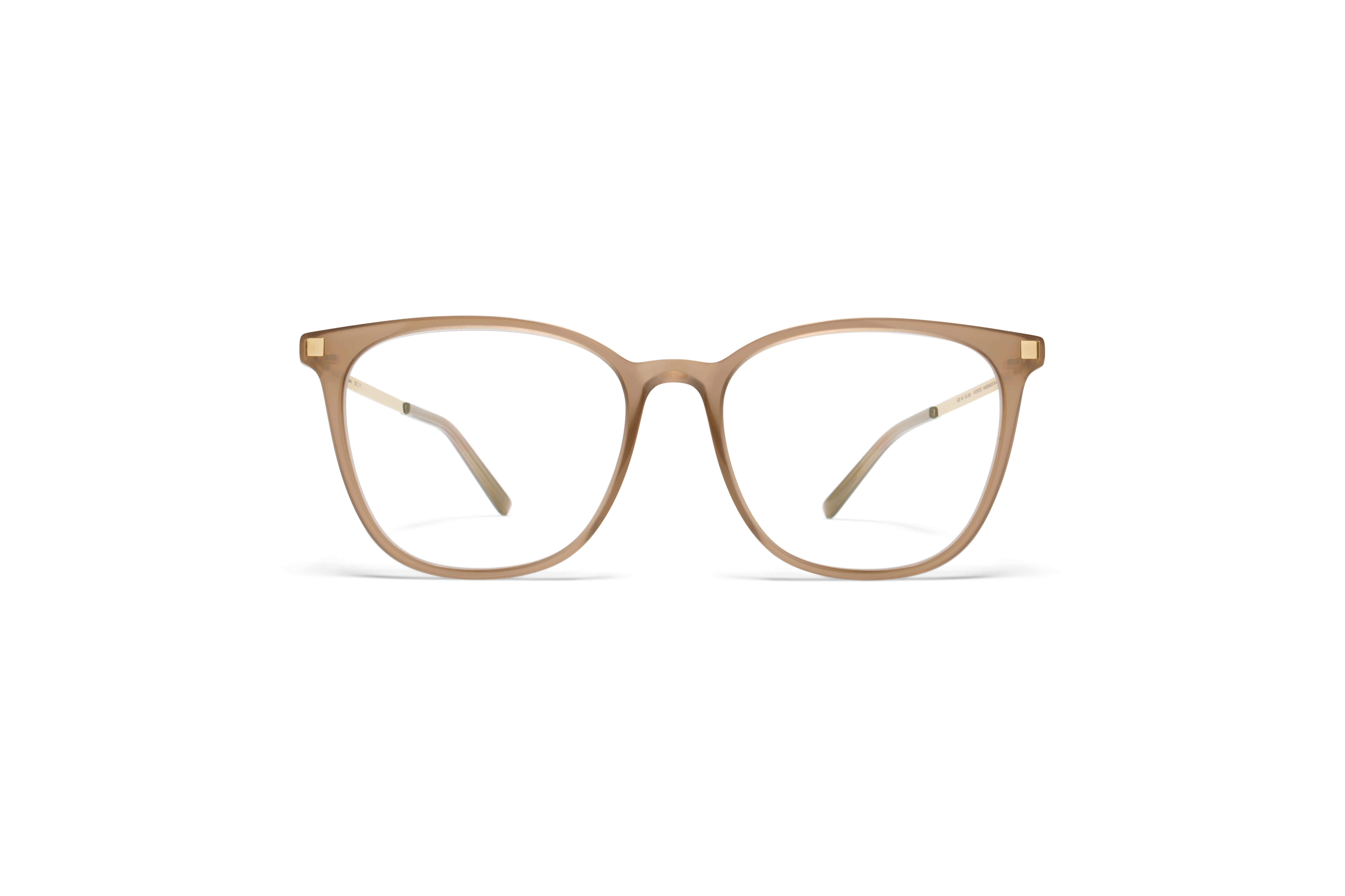 MYKITA Lite Acetate Rx Zima C7 Taupe Glossygold Cl5808ad9162ac3