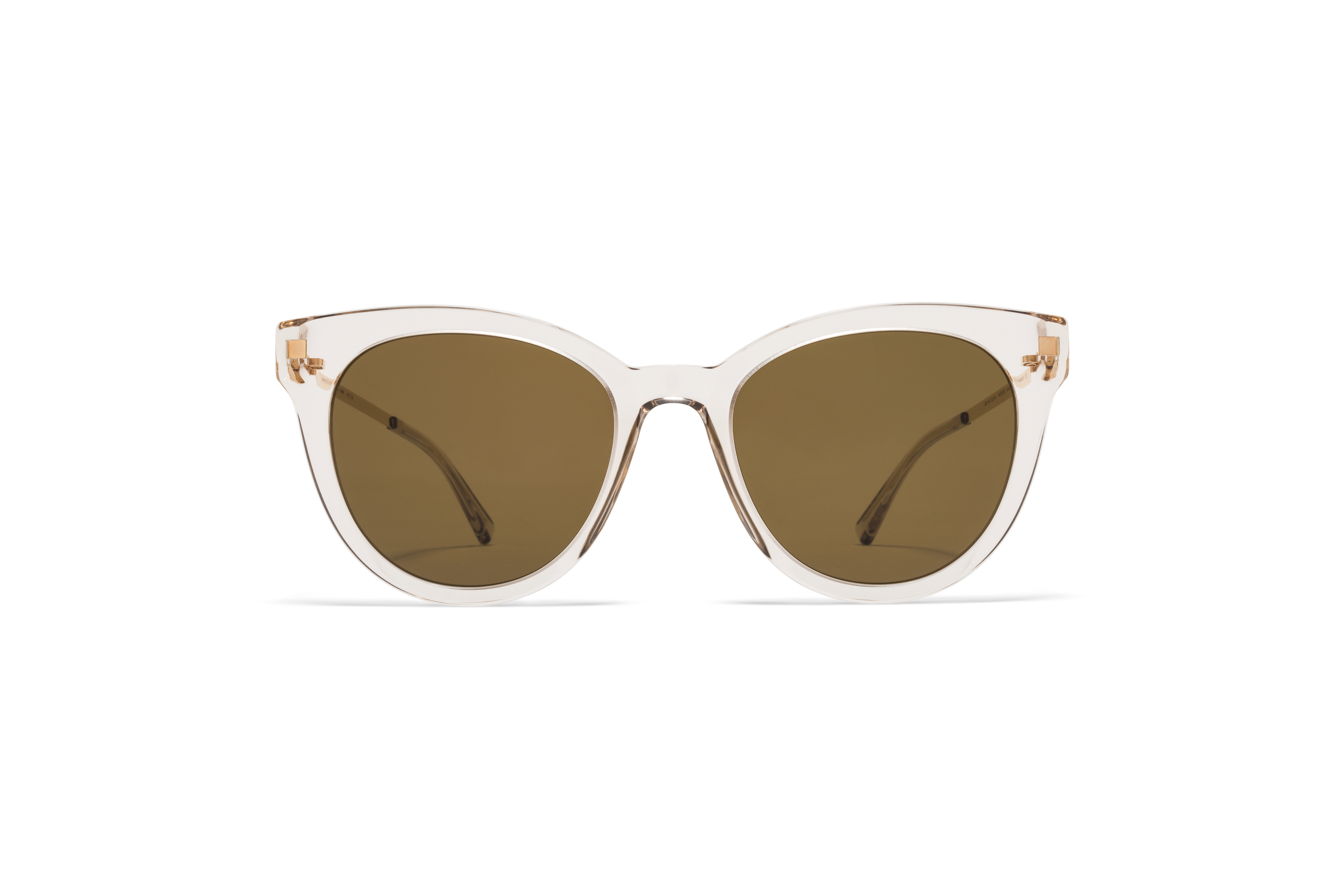 MYKITA Lite Acetate Sun Anik C1 Champagne Glossy Gold Raw Brown Solid