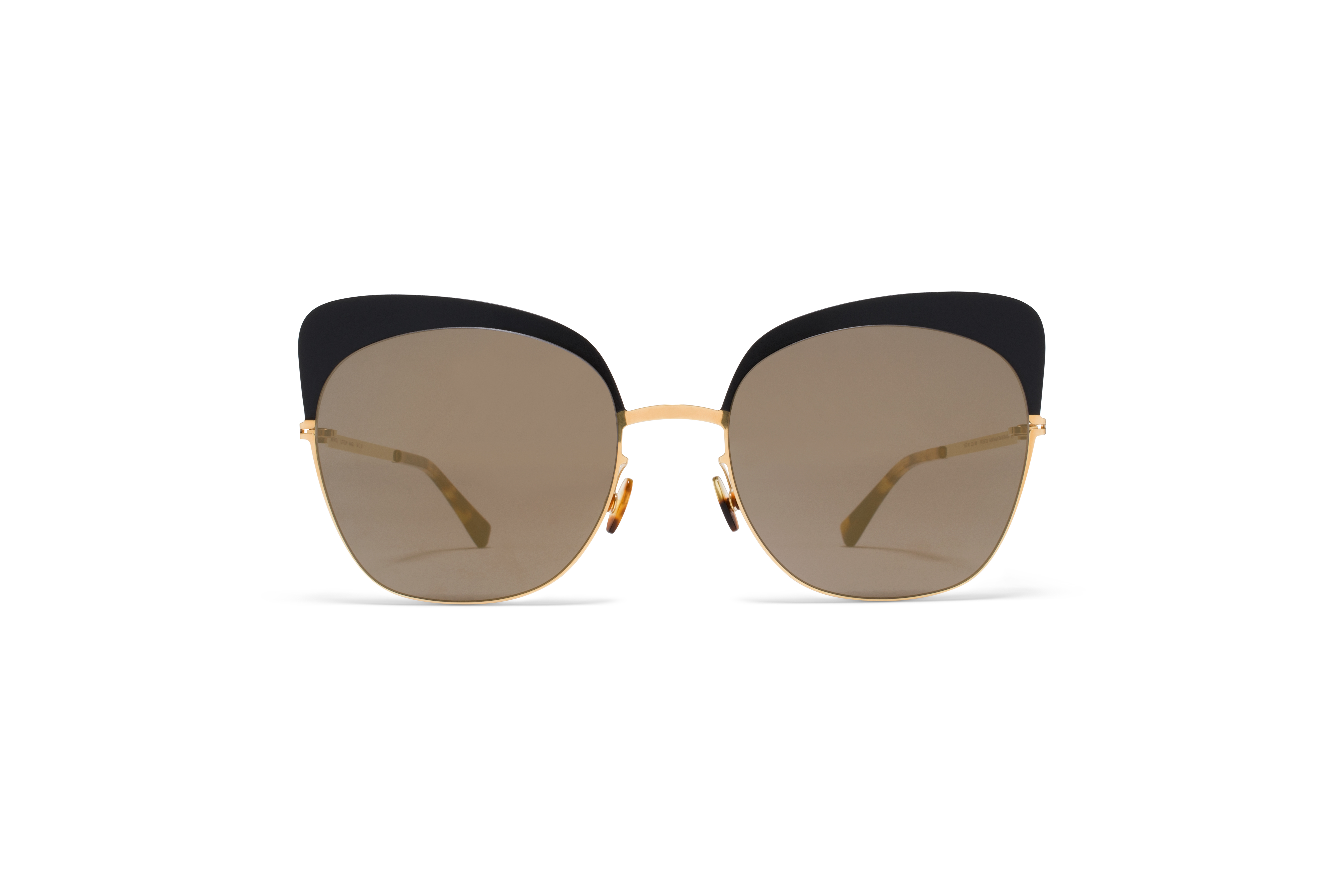 MYKITA Lite Acetate Sun Anneli Gold Black Brillian58ab12be3c4db