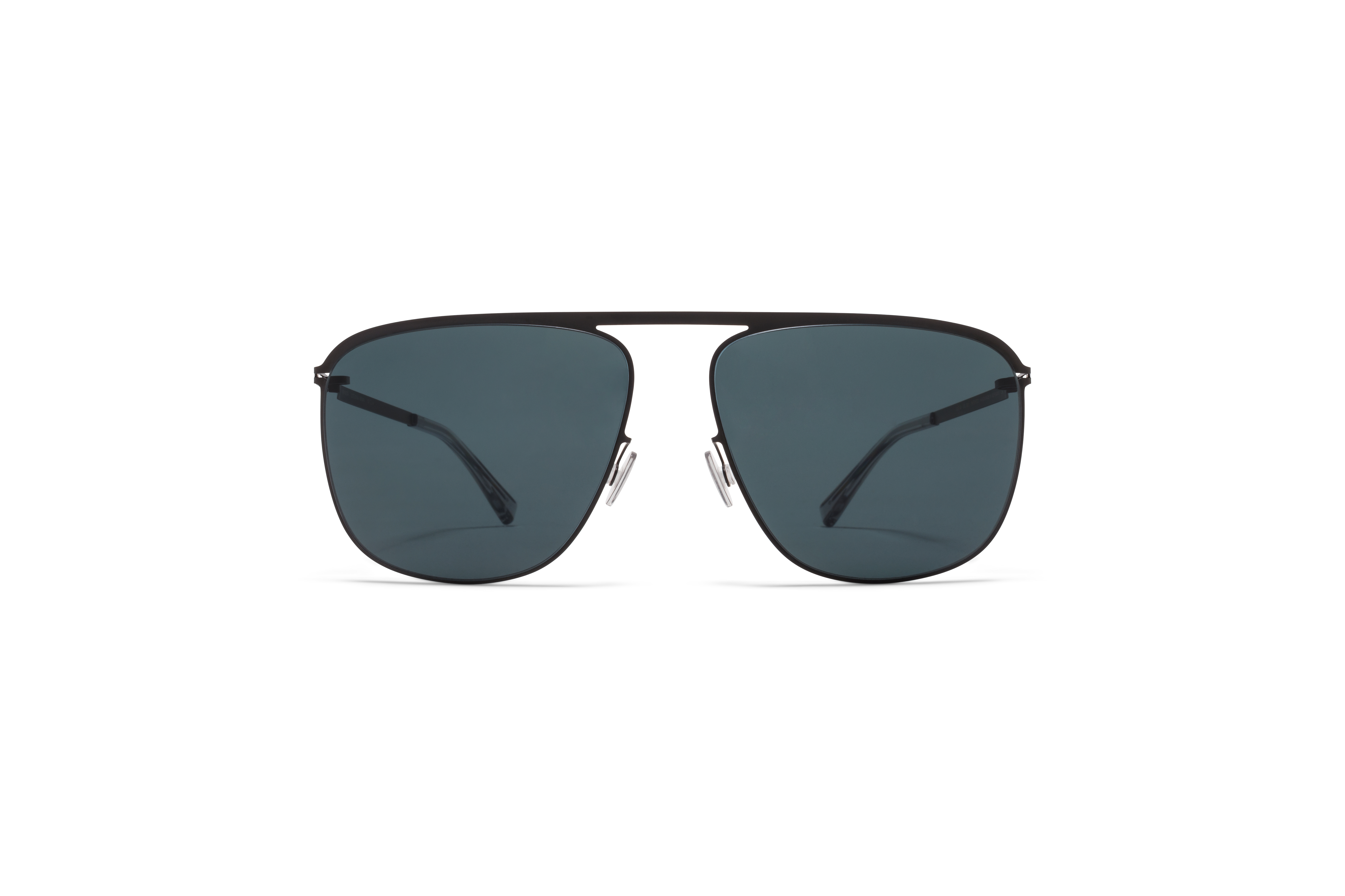 MYKITA Lite Acetate Sun Brian Black My Black Polarised