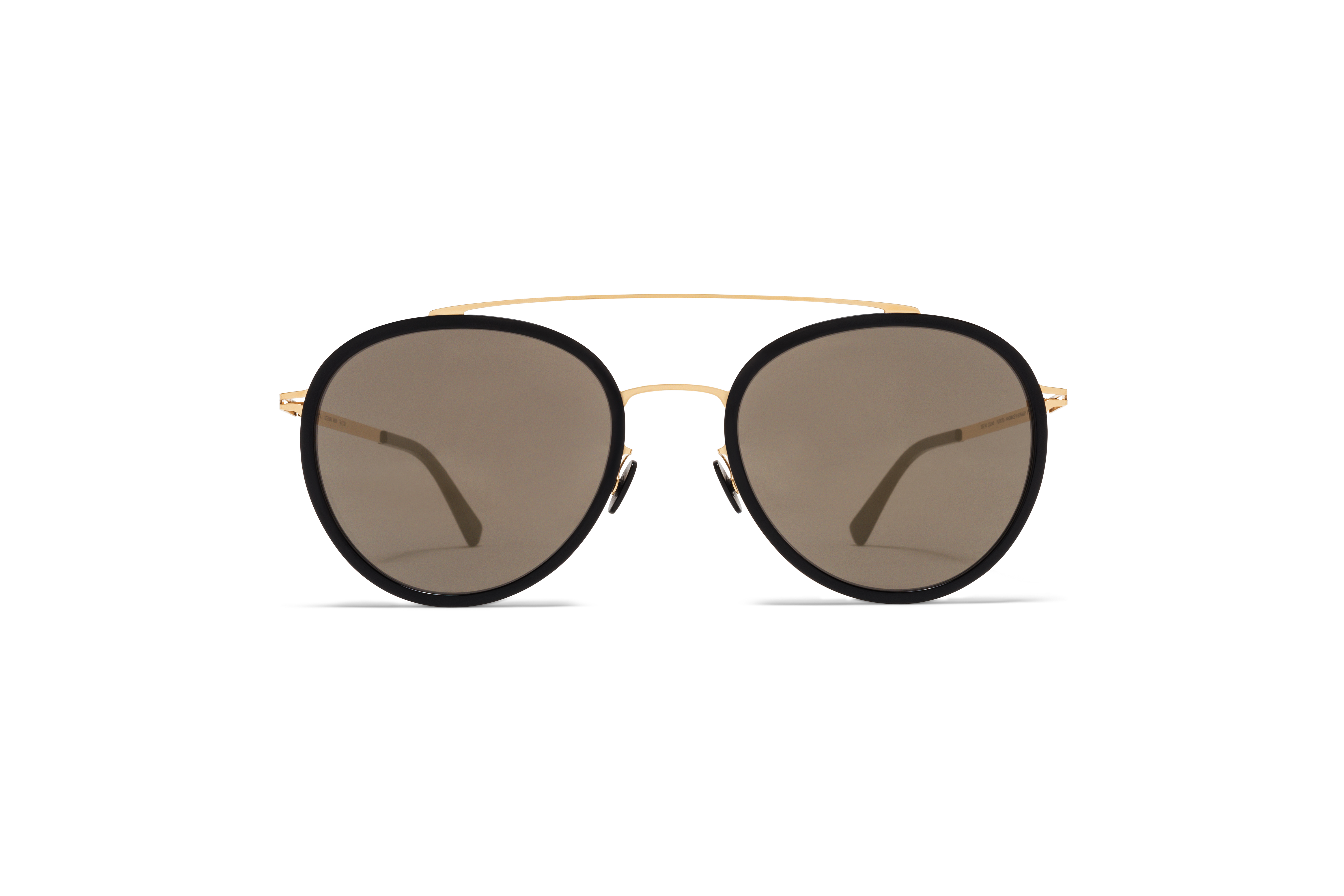 MYKITA Lite Acetate Sun Meri A15 Glossy Gold Black59fb1cd15de70