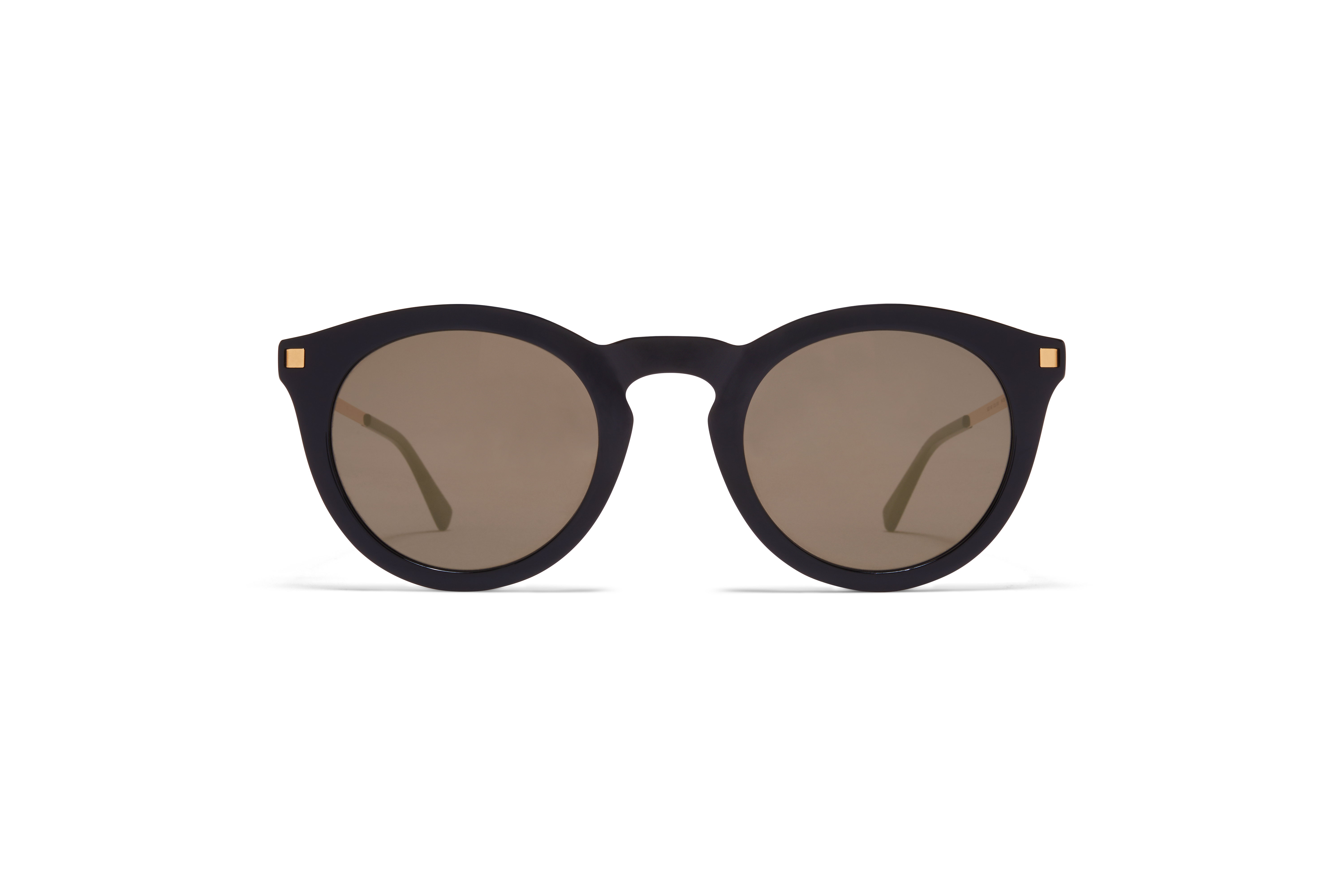 MYKITA Lite Acetate Sun Meriwa C6 Black Glossy Gold Brilliant Grey Solid