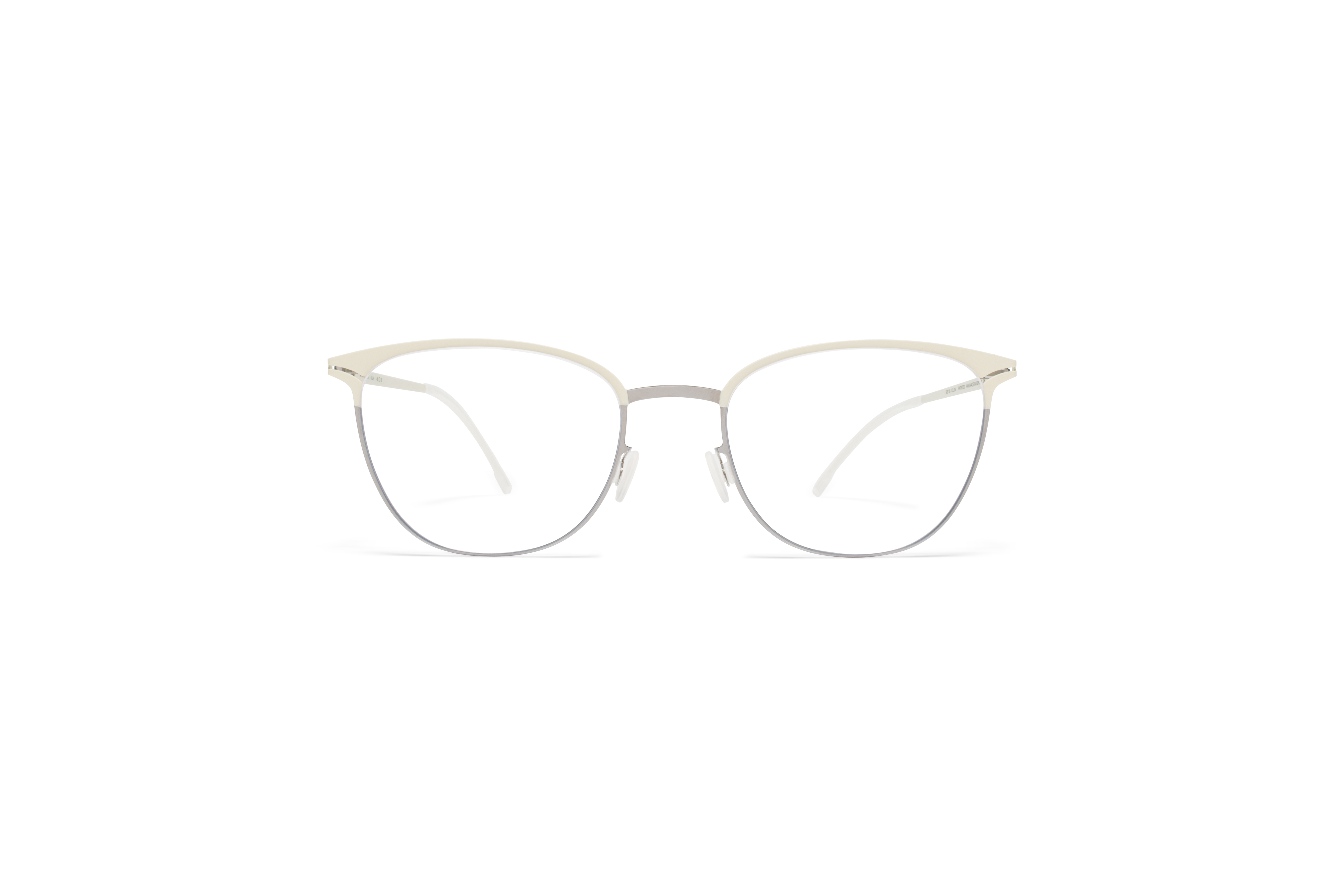 MYKITA Lite Metal Rx Ulla Silver Offwhite Clear