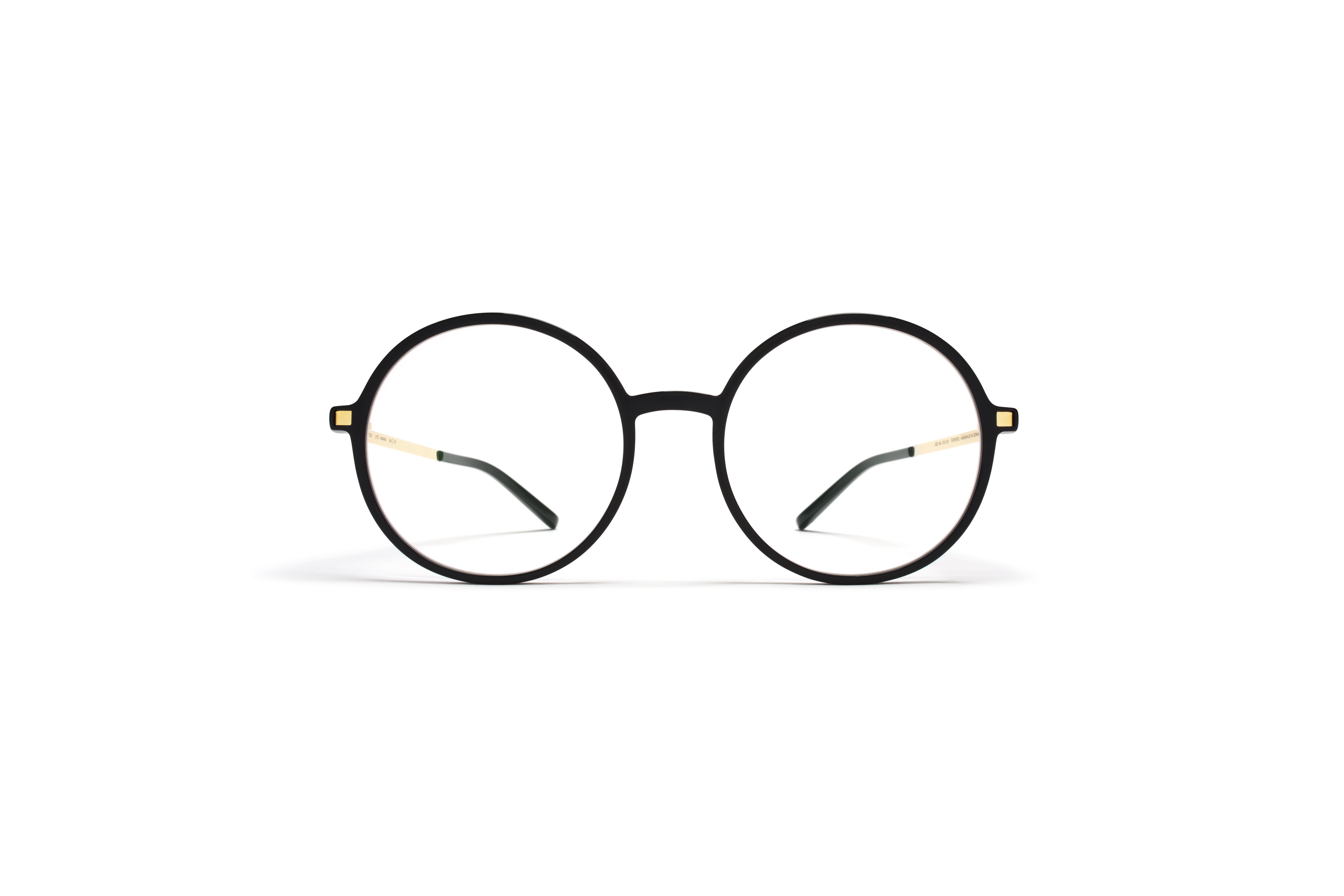 MYKITA Lite Rx Anana Black Glossygold Clear